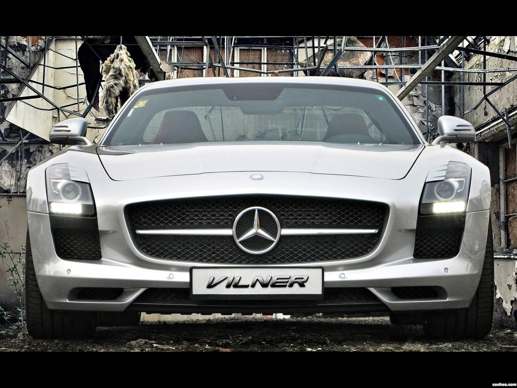 Foto 2 de Mercedes Vilner SLS AMG 2013