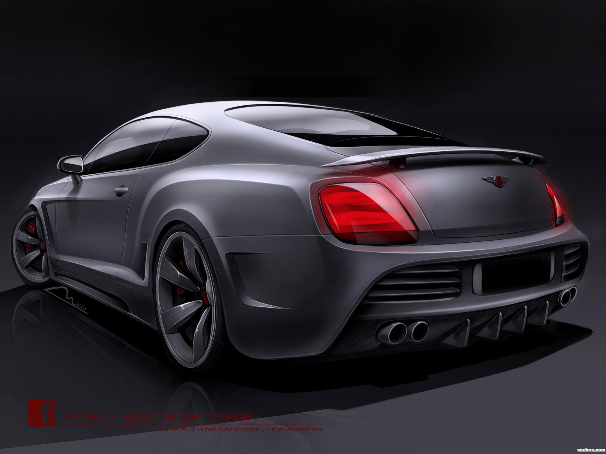 Foto 1 de Vilner Bentley Continental GT Design Project 2013