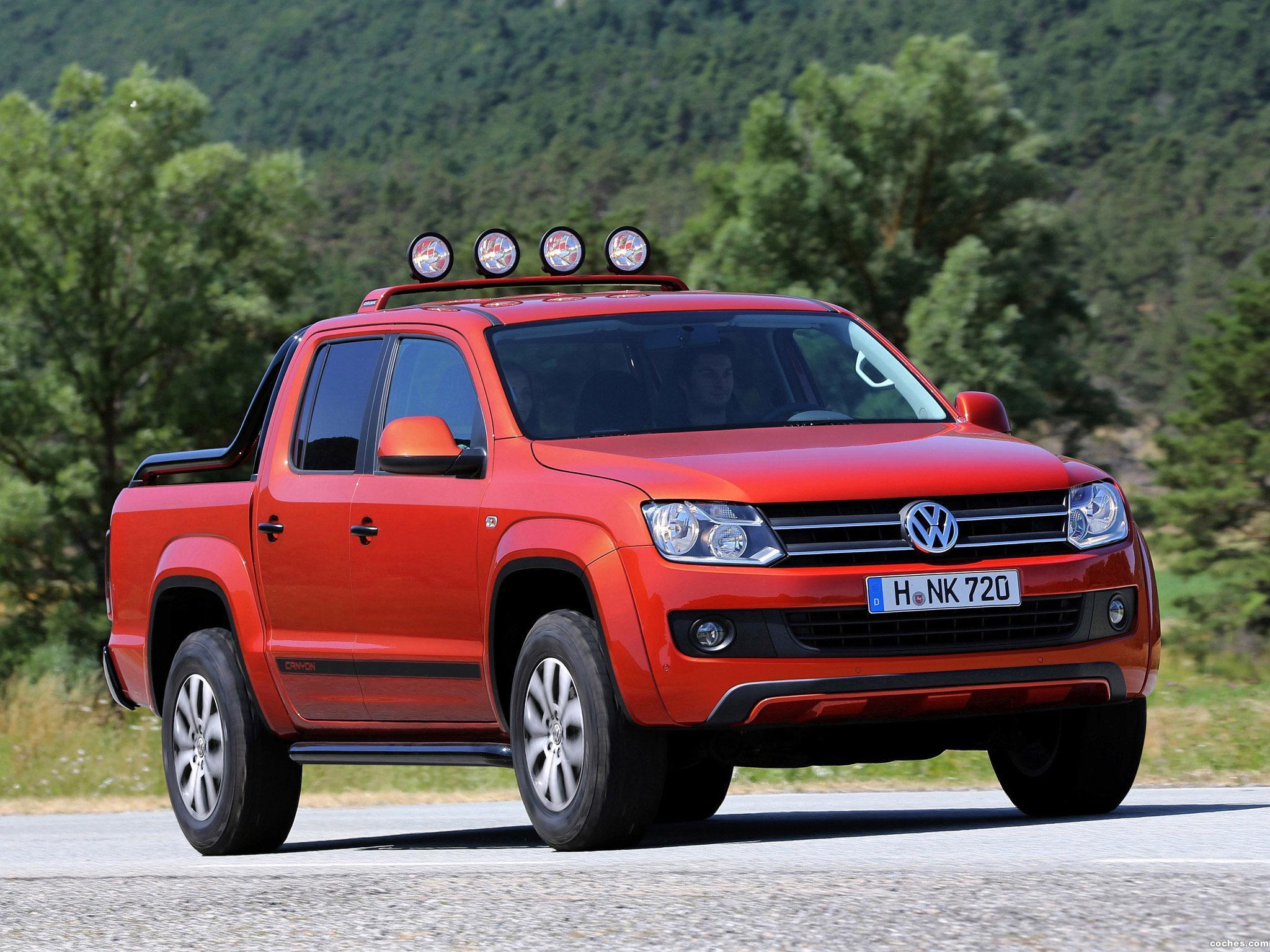 Foto 4 de Volkswagen Amarok Canyon 2013