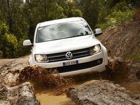 Fotos de Volkswagen Amarok Double Cab Comfortline Australia 2010