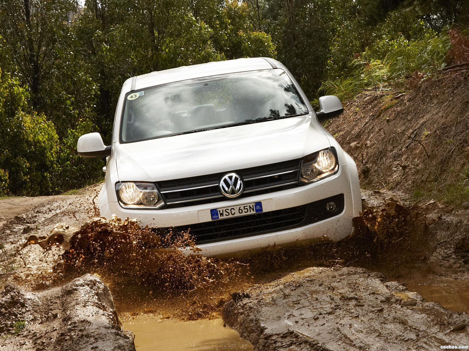Foto 0 de Volkswagen Amarok Double Cab Comfortline Australia 2010