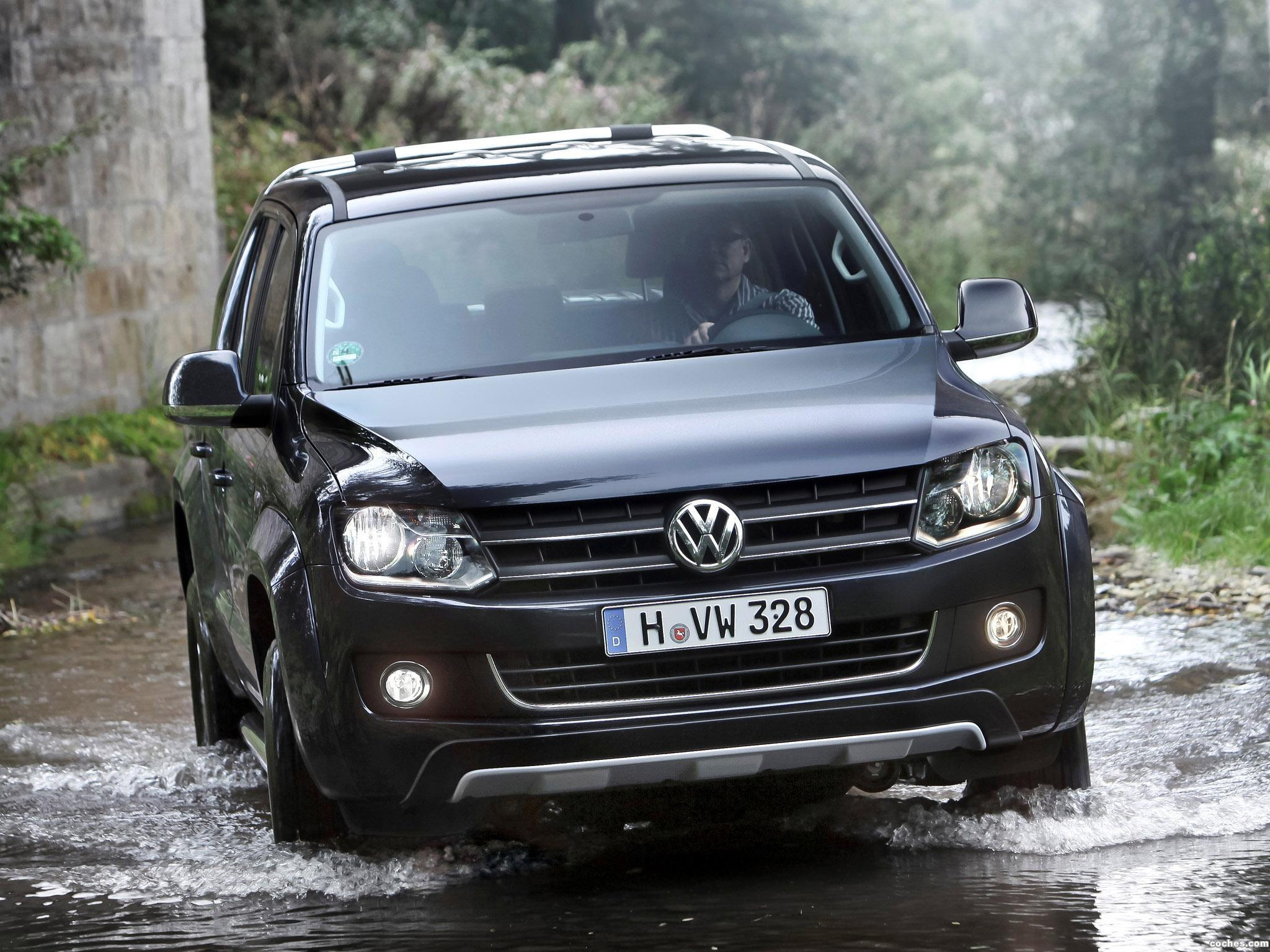 Foto 0 de Volkswagen Amarok Double Cab Highline BlueMotion 2011