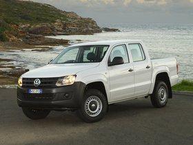 Fotos de Volkswagen Amarok Double Cab Trendline Australia 2010