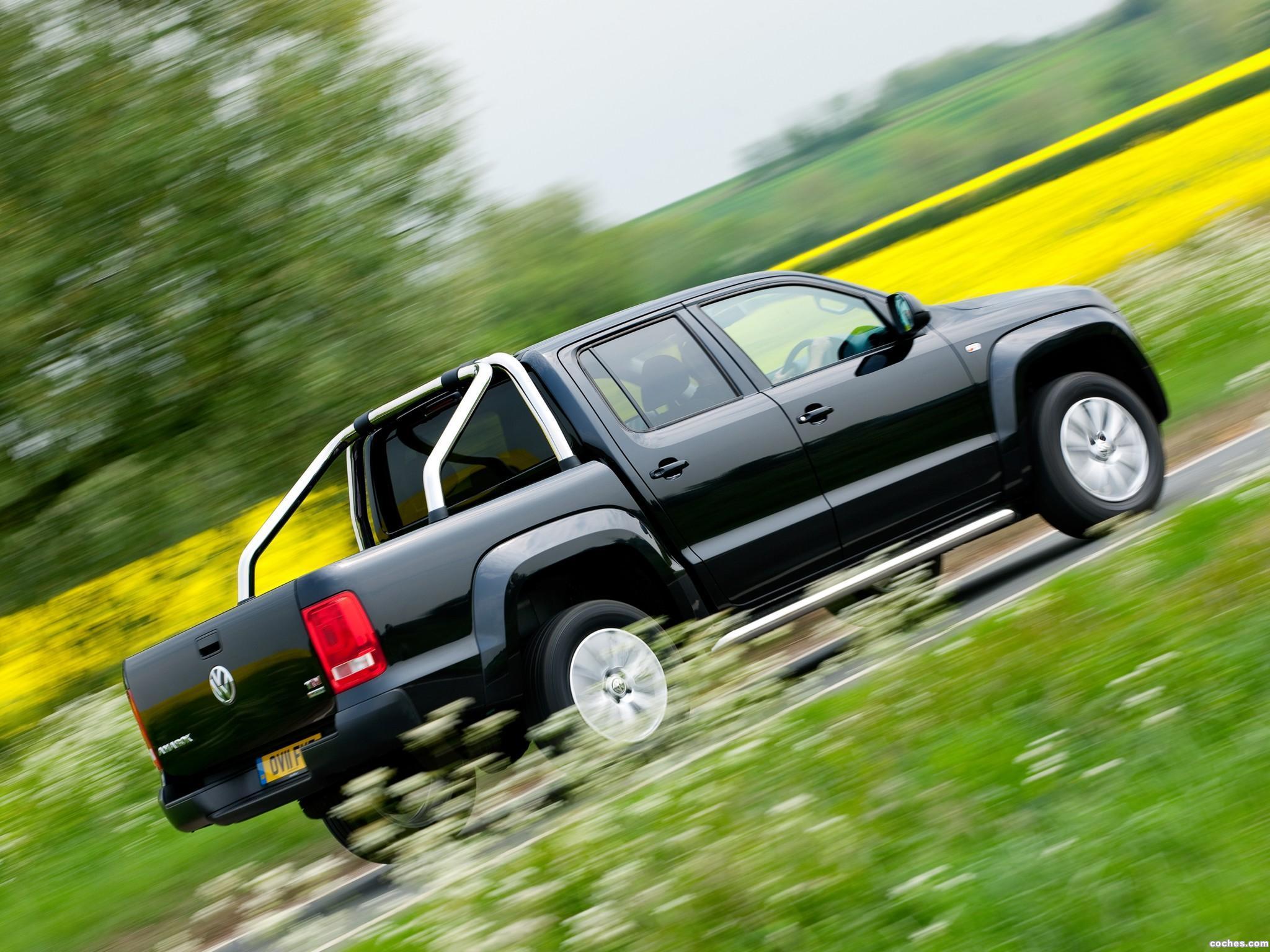 Foto 10 de Volkswagen Amarok Double Cab Trendline UK 2010