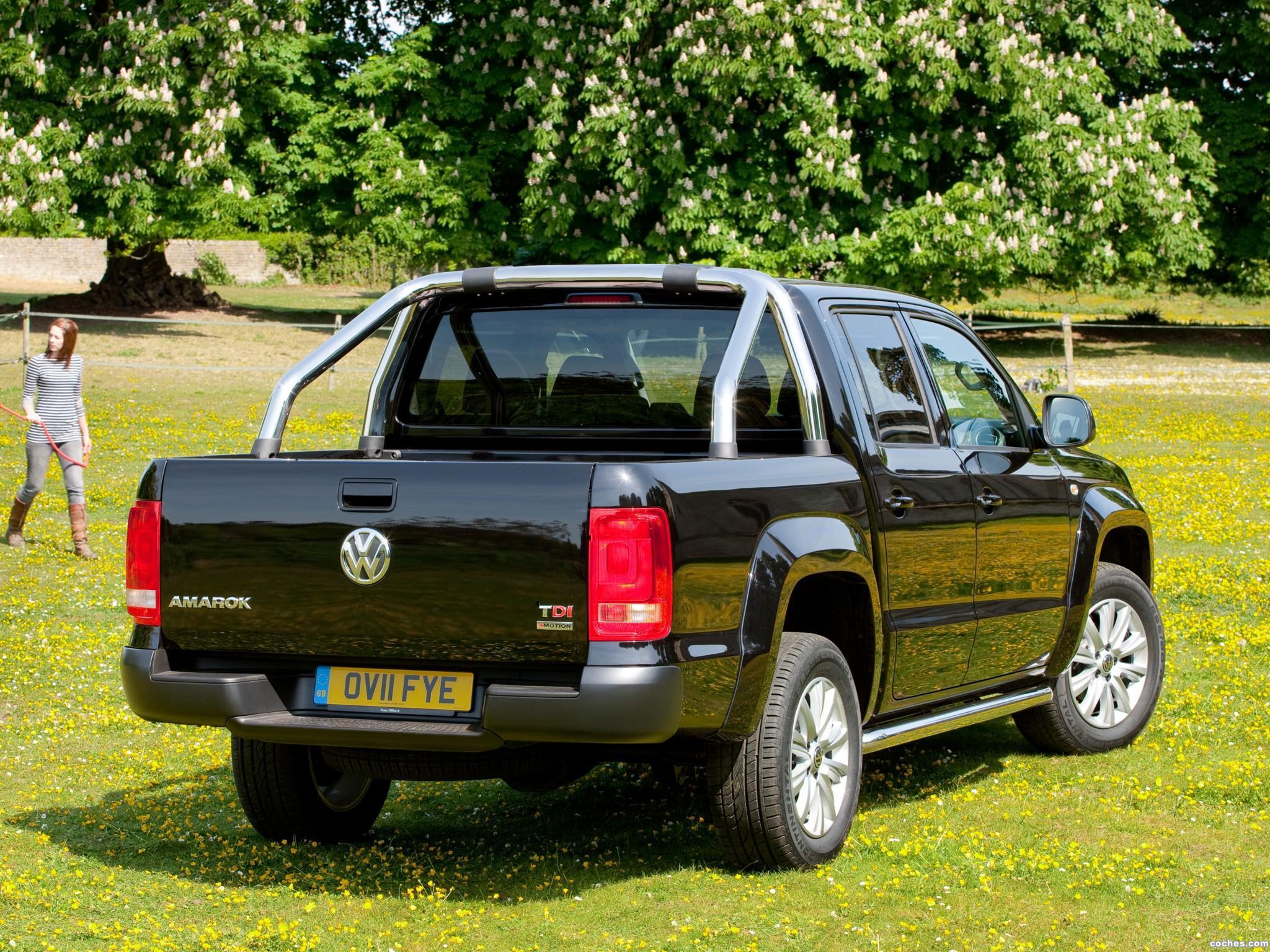 Foto 6 de Volkswagen Amarok Double Cab Trendline UK 2010