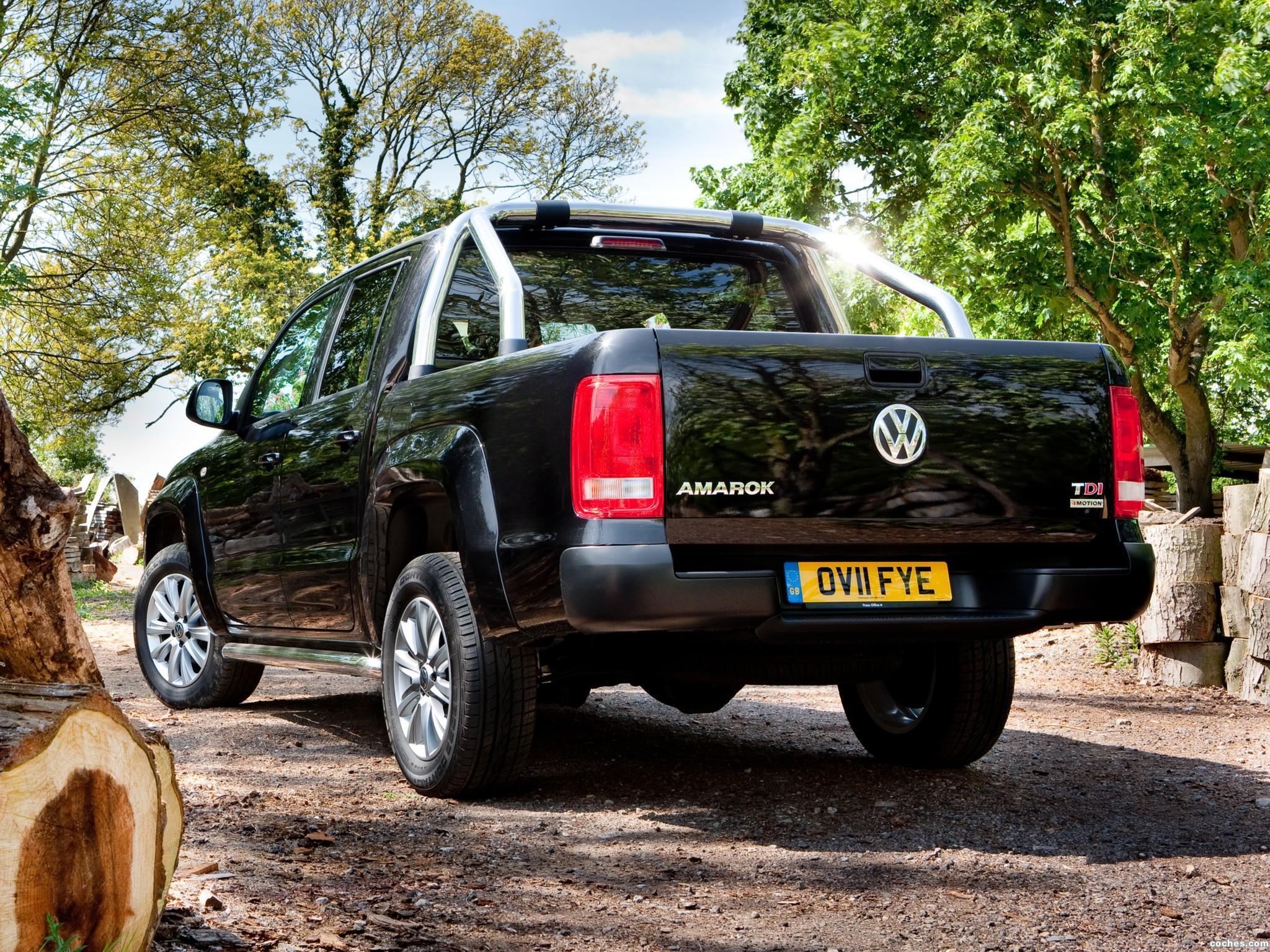 Foto 5 de Volkswagen Amarok Double Cab Trendline UK 2010