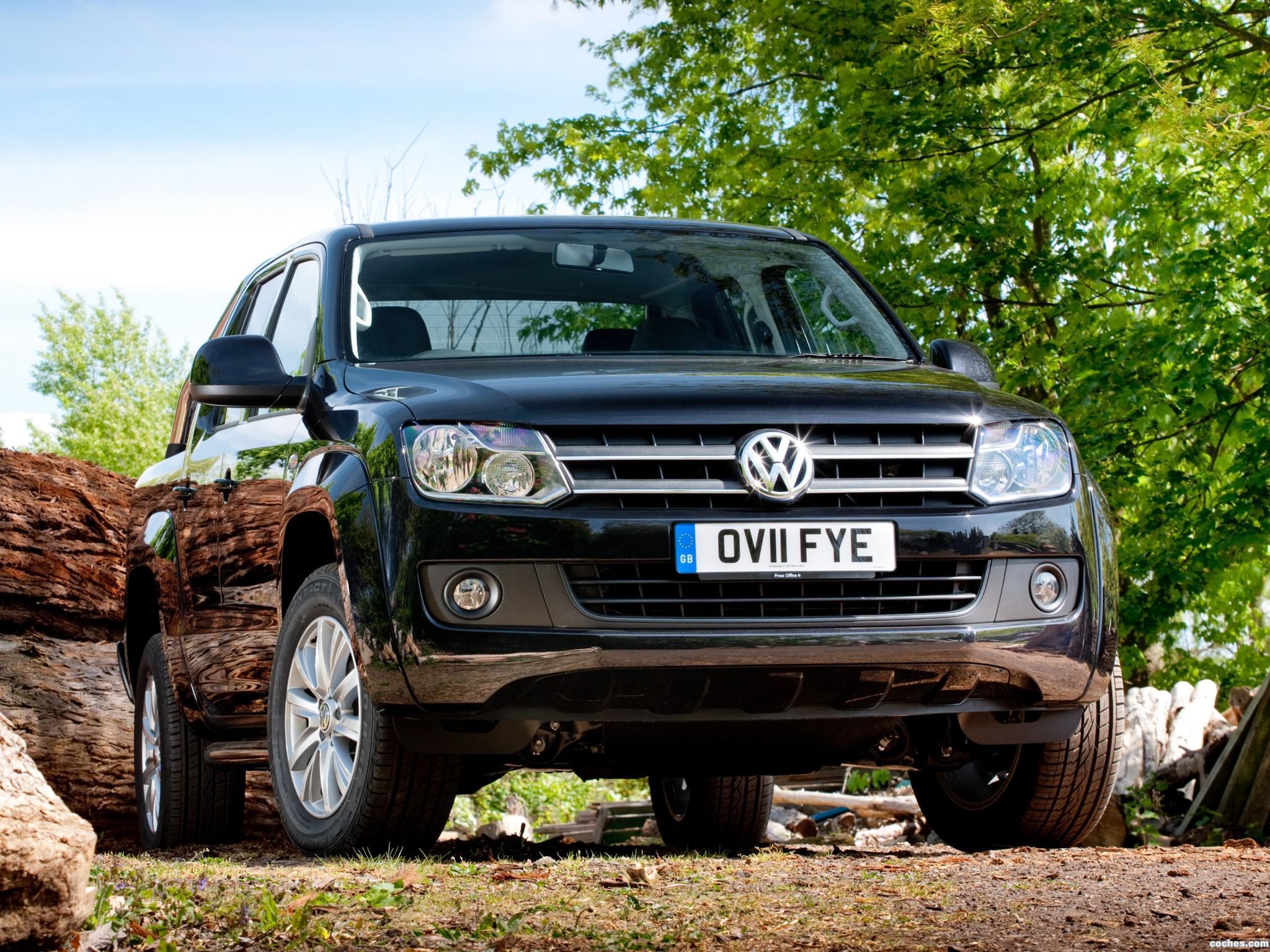Foto 0 de Volkswagen Amarok Double Cab Trendline UK 2010