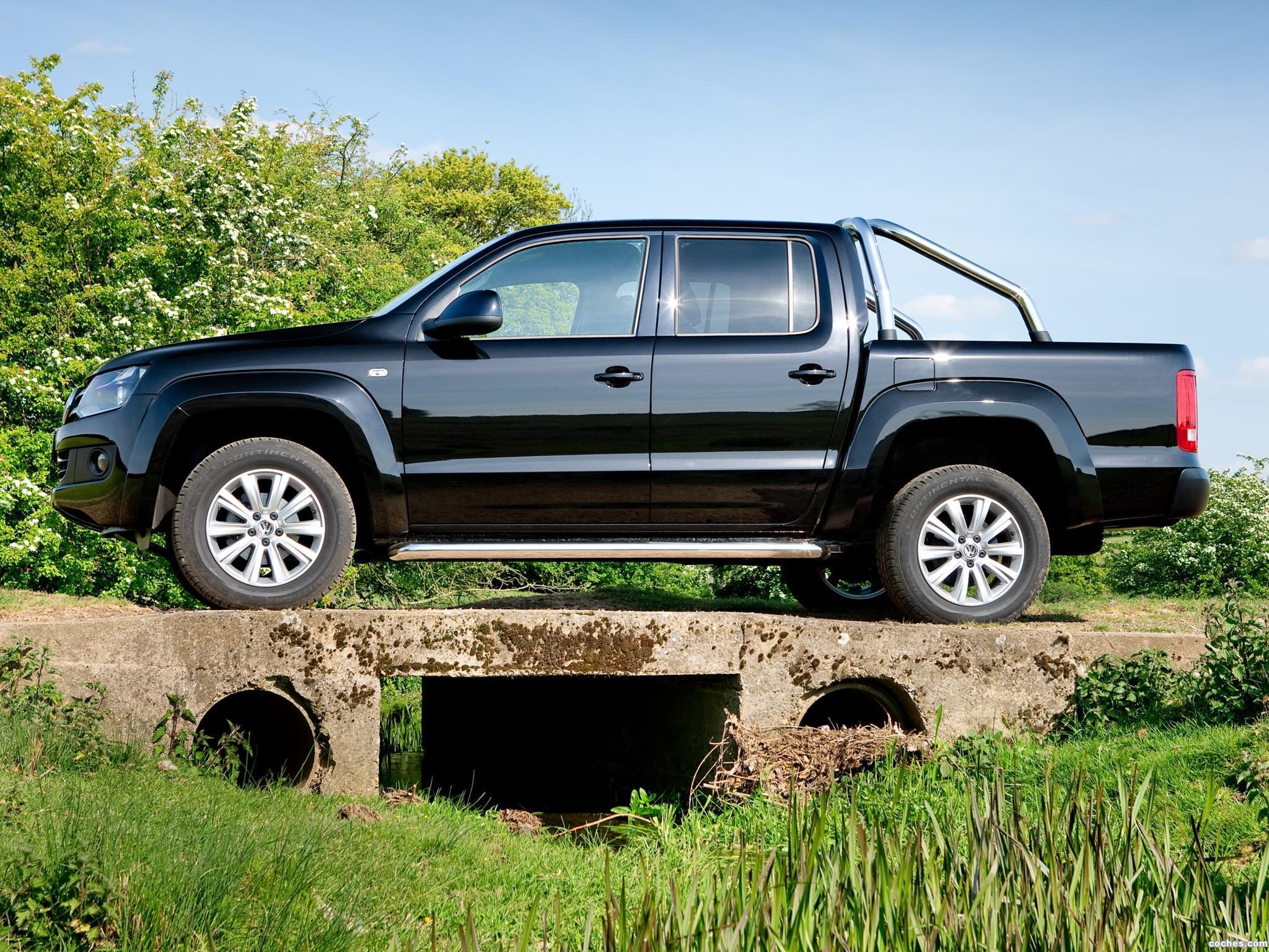 Foto 14 de Volkswagen Amarok Double Cab Trendline UK 2010