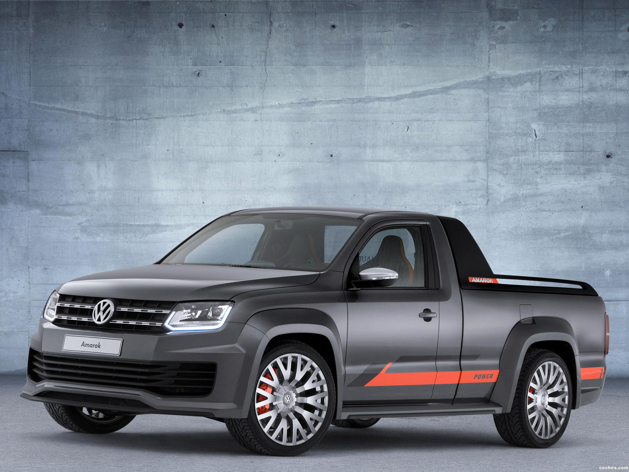 Foto 0 de Volkswagen Amarok Power Concept 2013