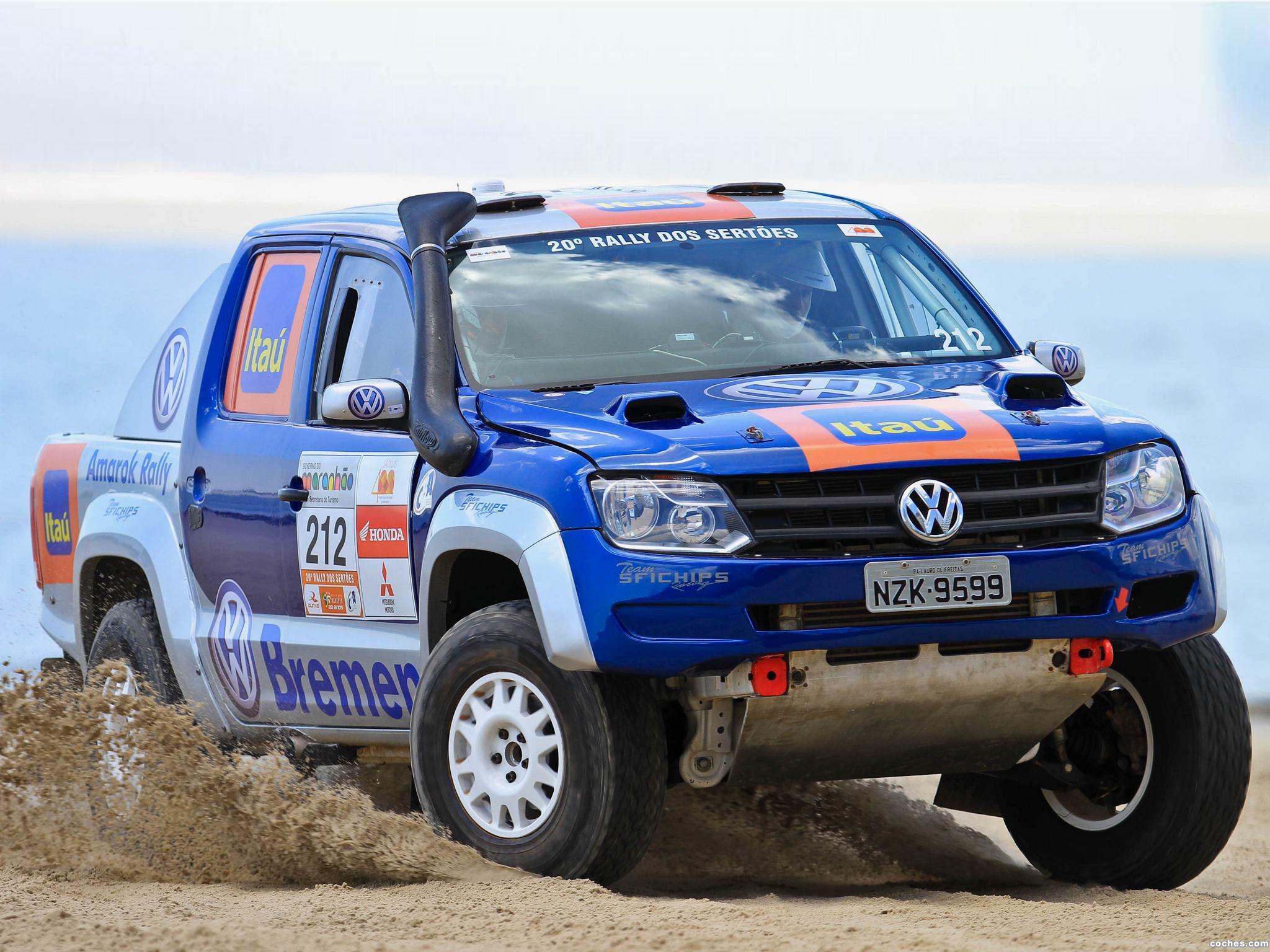 Foto 0 de Volkswagen Amarok Rally Car 2012
