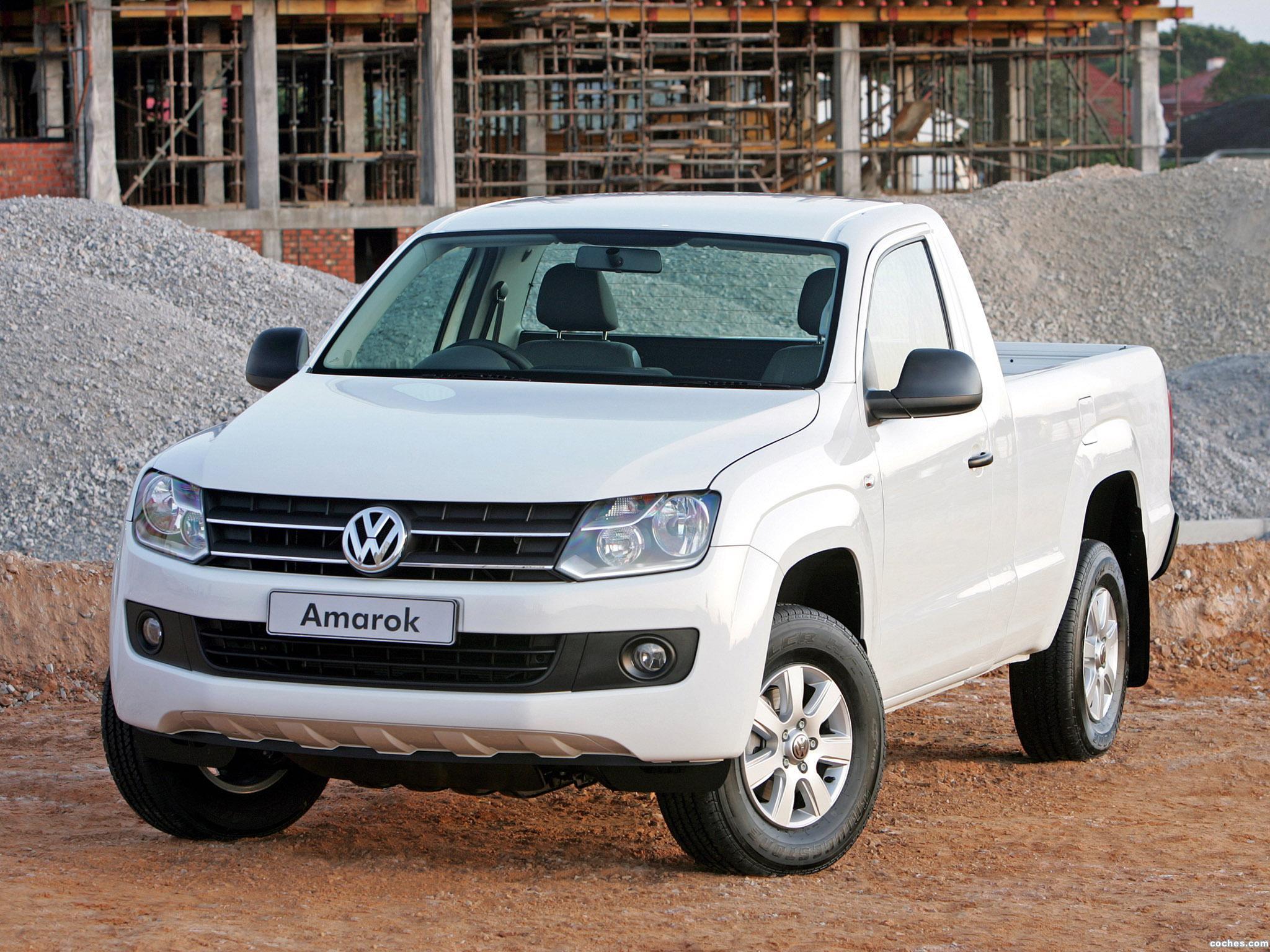 Foto 0 de Volkswagen Amarok Single Cab Comfortline 2011