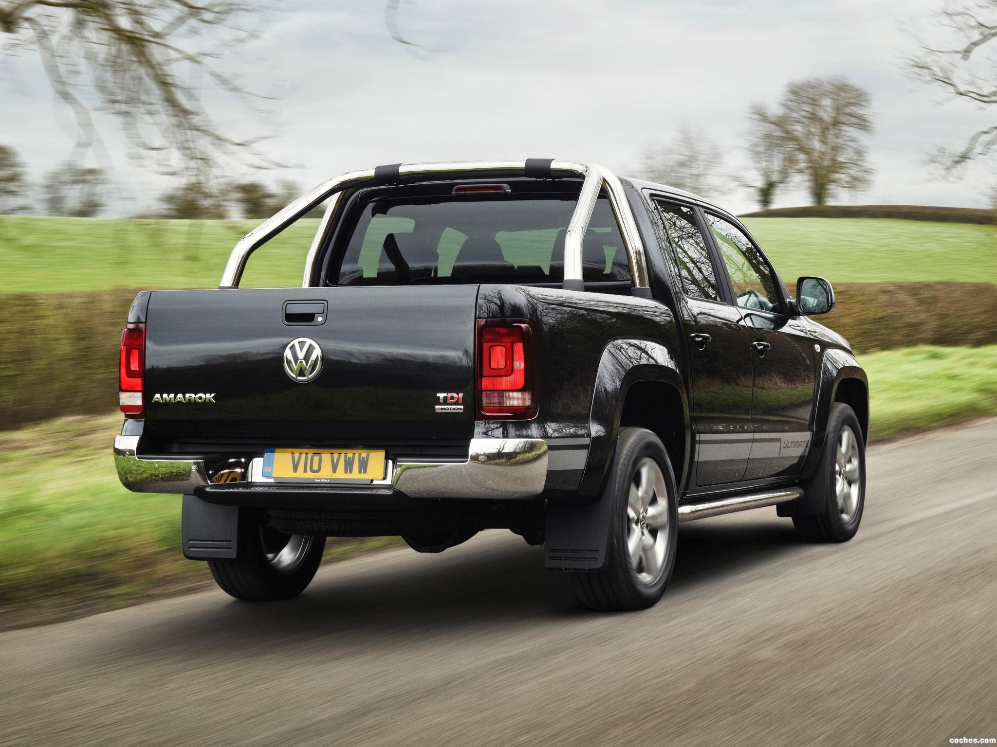 Foto 2 de Volkswagen Amarok Ultimate UK 2015
