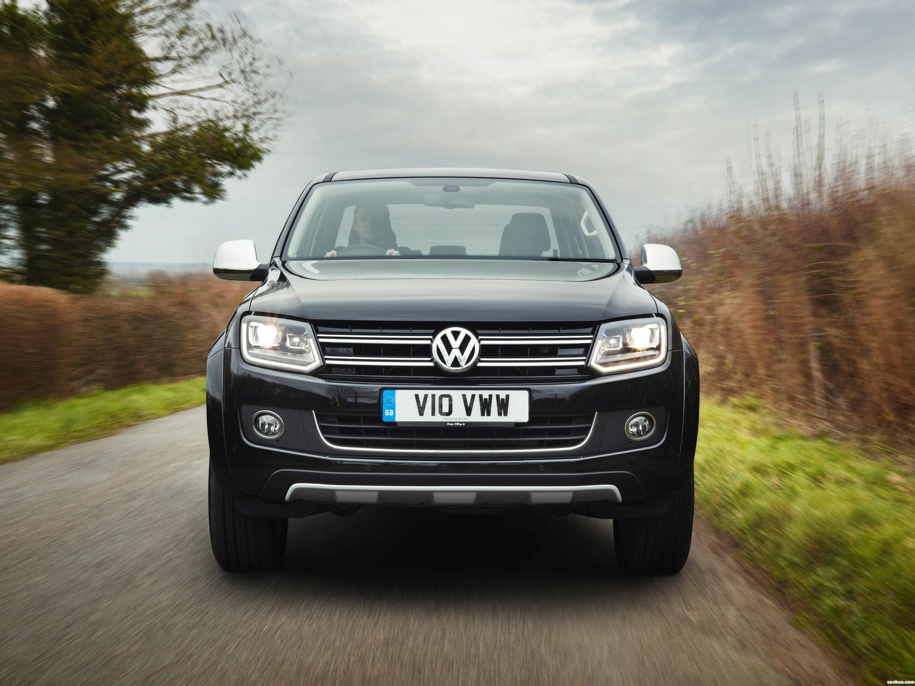 Foto 0 de Volkswagen Amarok Ultimate UK 2015