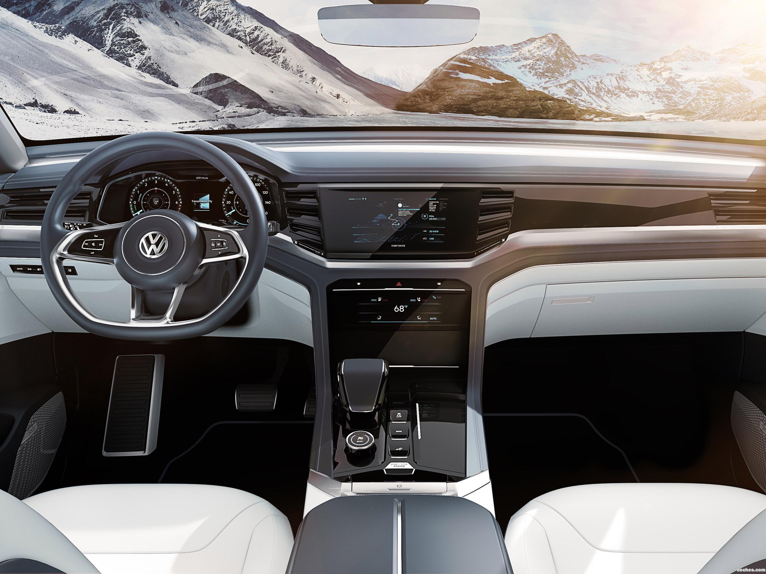 Foto 8 de Volkswagen Atlas Cross Sport Concept 2018 2018
