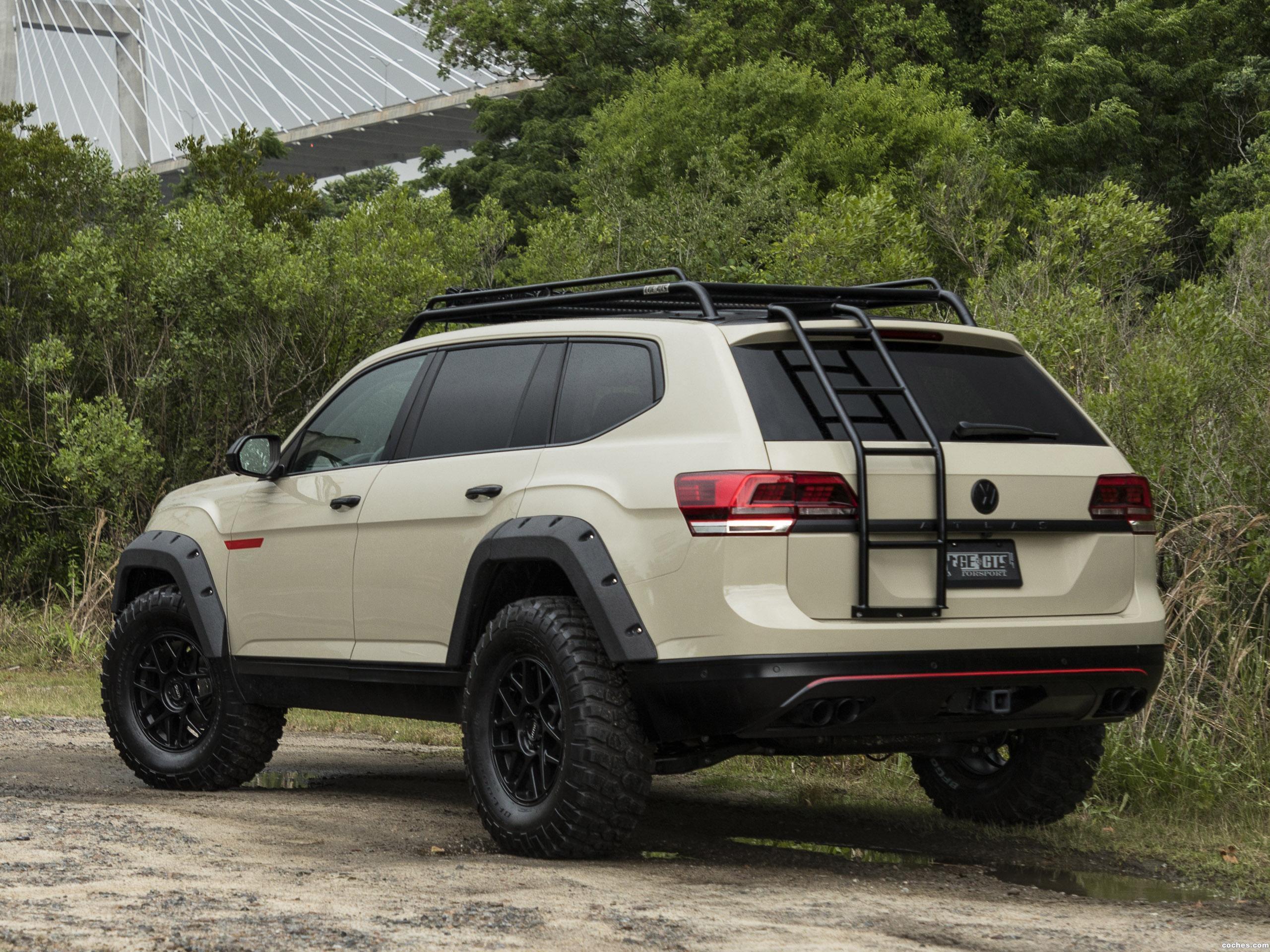 Foto 4 de Volkswagen  Atlas Tanner Foust Sema Concept  2018
