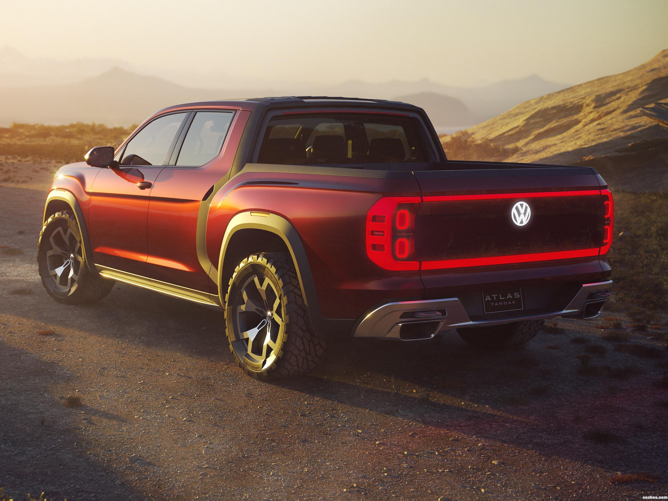 Foto 1 de Volkswagen  Atlas Tanoak Pickup Truck Concept  2018