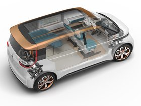 Ver foto 11 de Volkswagen BUDD-e Concept 2016