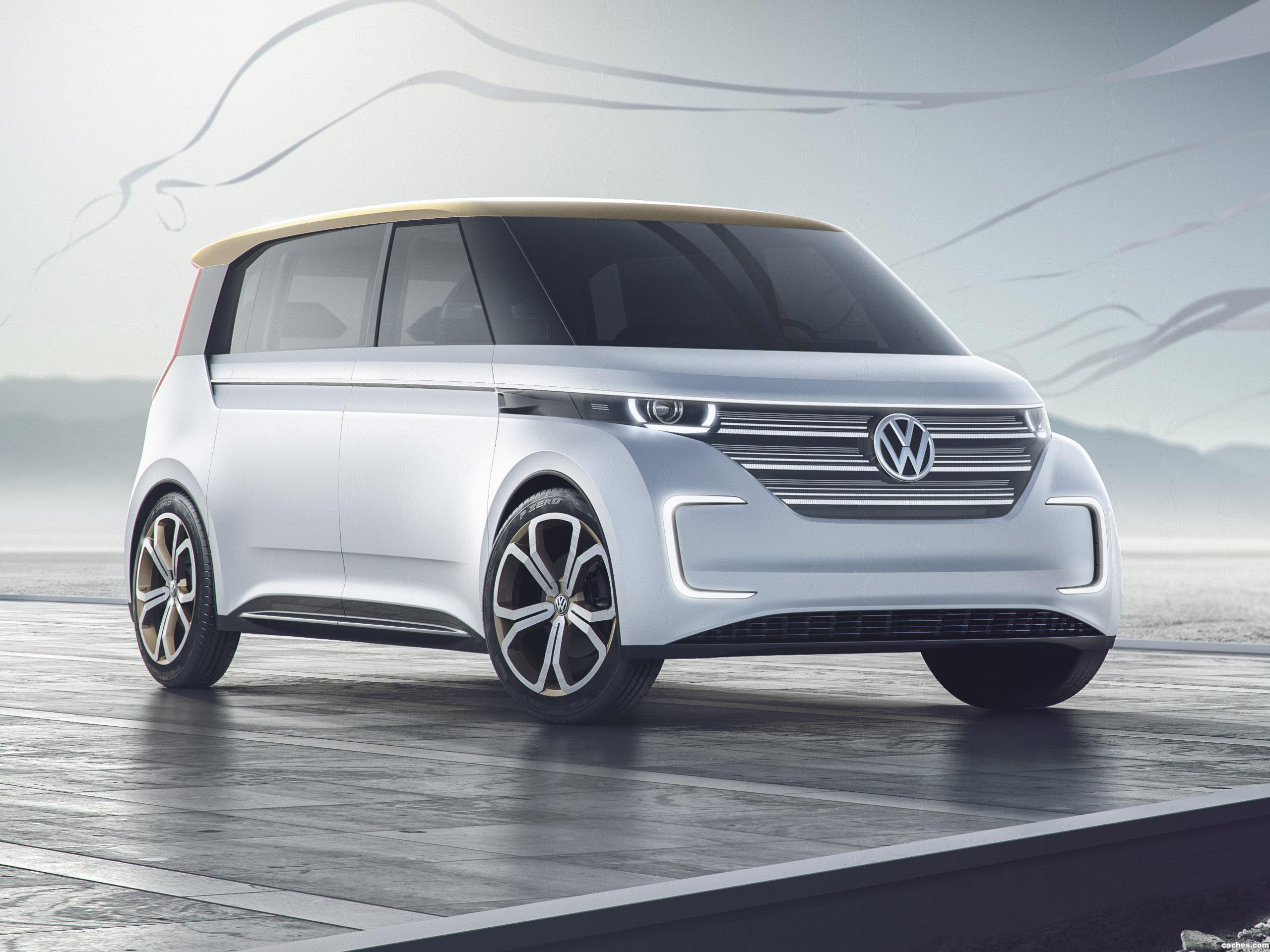 Foto 0 de Volkswagen BUDD-e Concept 2016