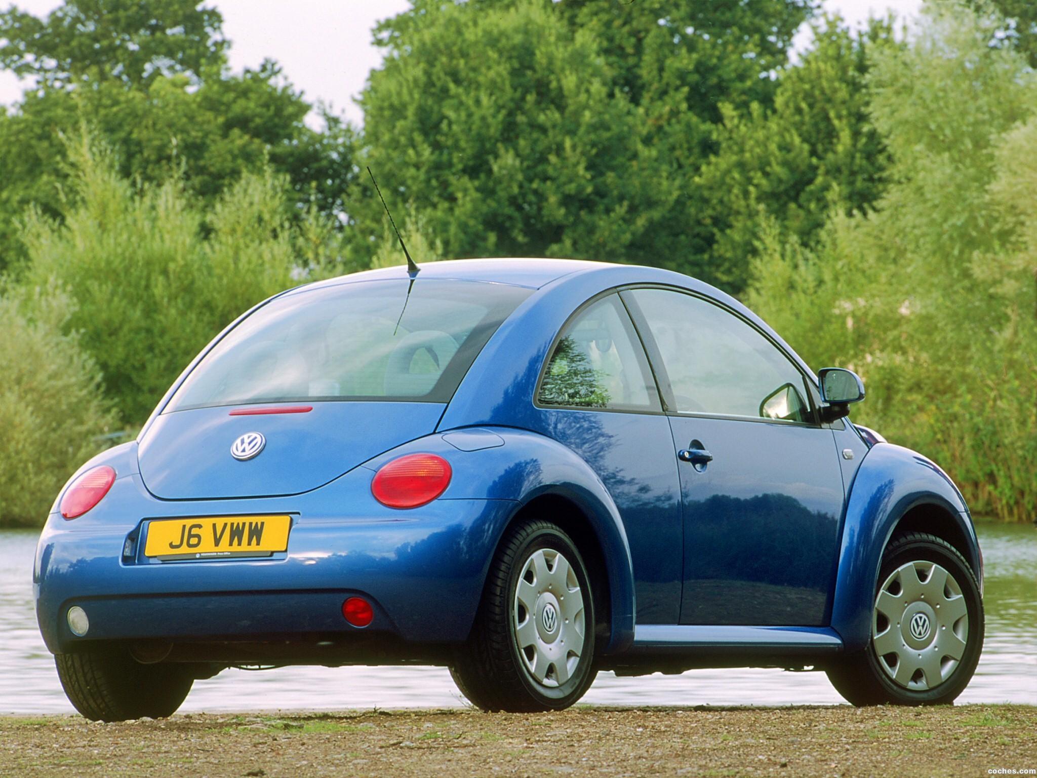 Foto 10 de Volkswagen New Beetle 1998