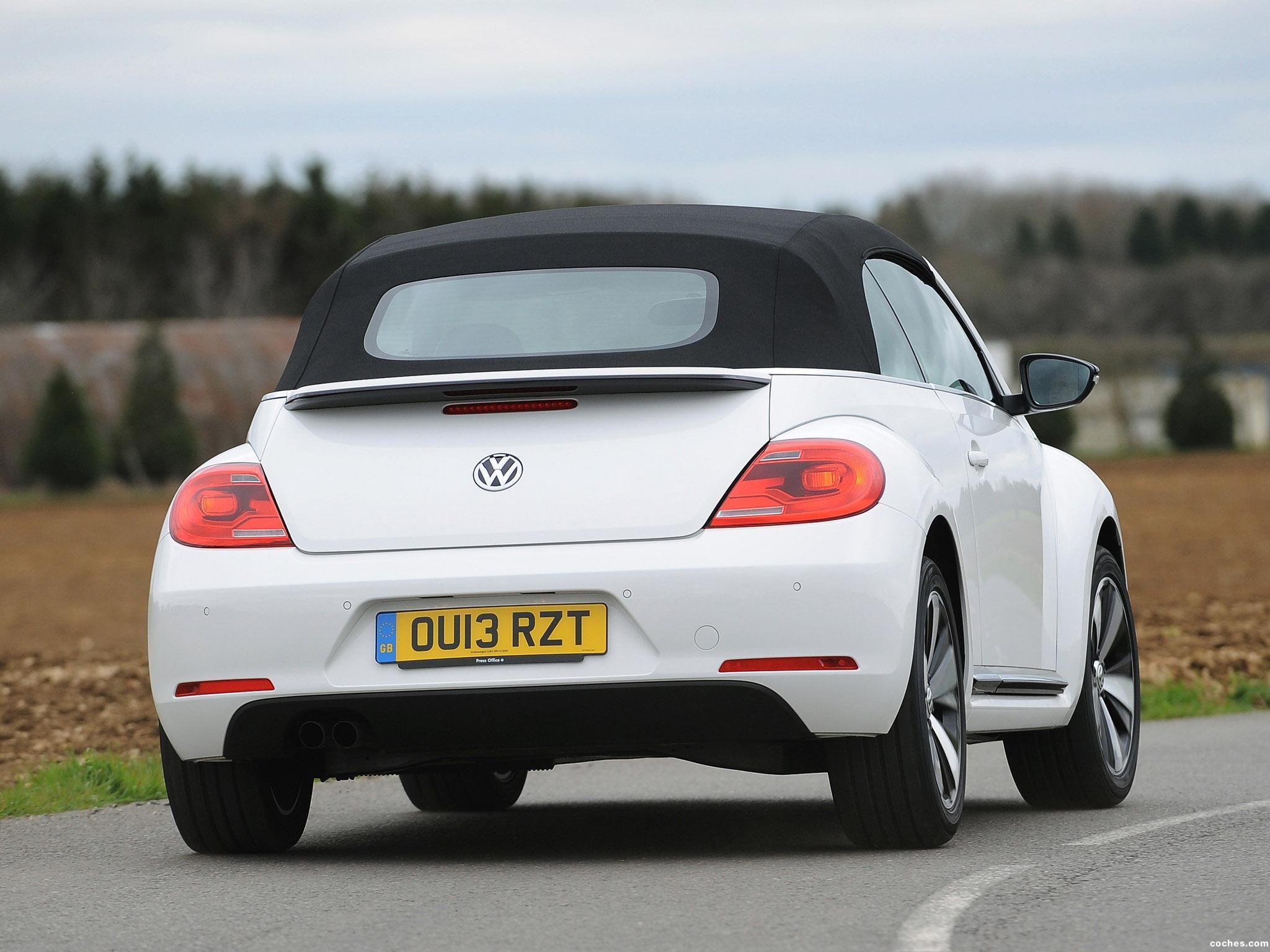 Foto 8 de Volkswagen Beetle Cabrio 60s Edition UK 2013