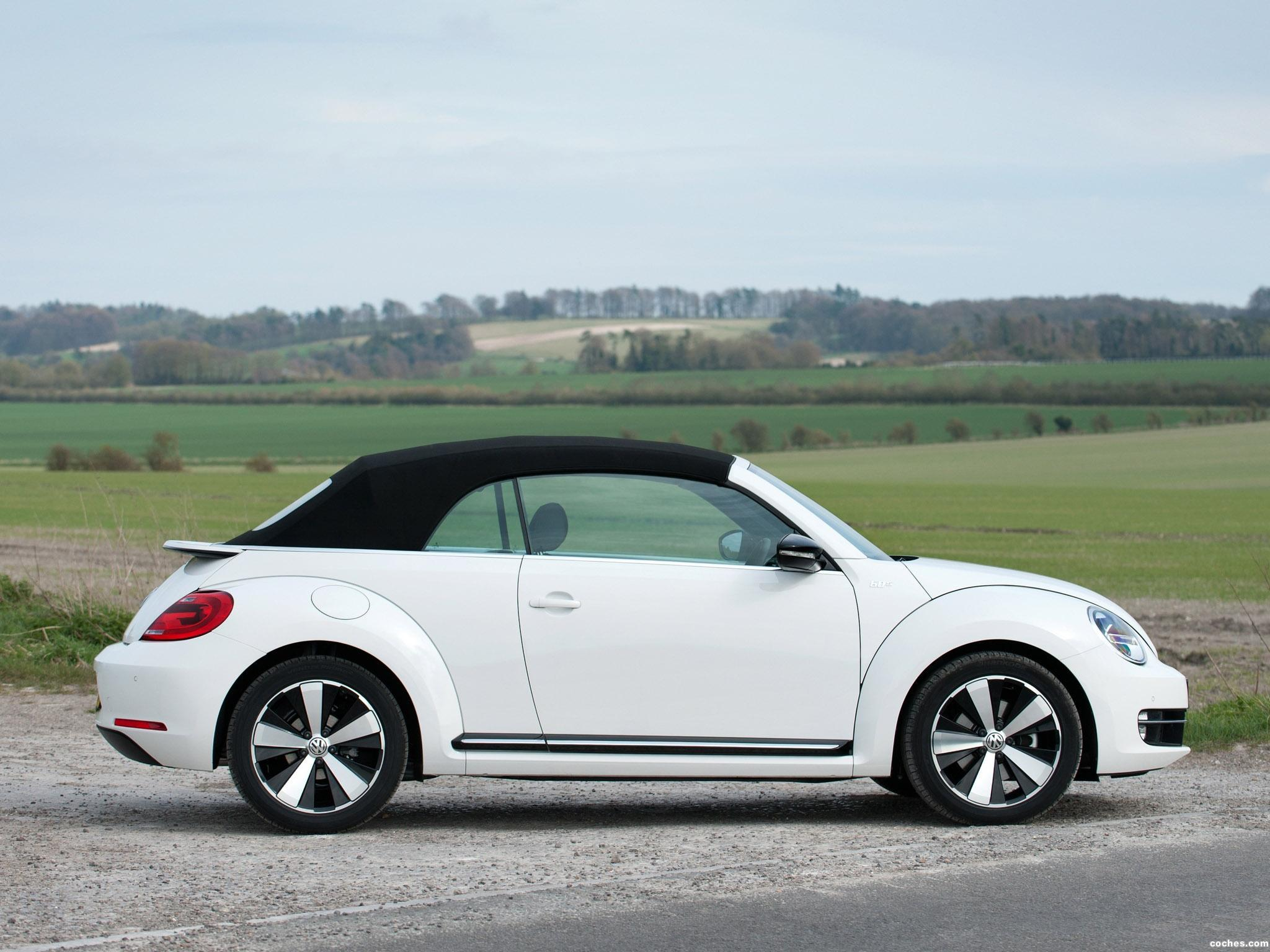 Foto 6 de Volkswagen Beetle Cabrio 60s Edition UK 2013