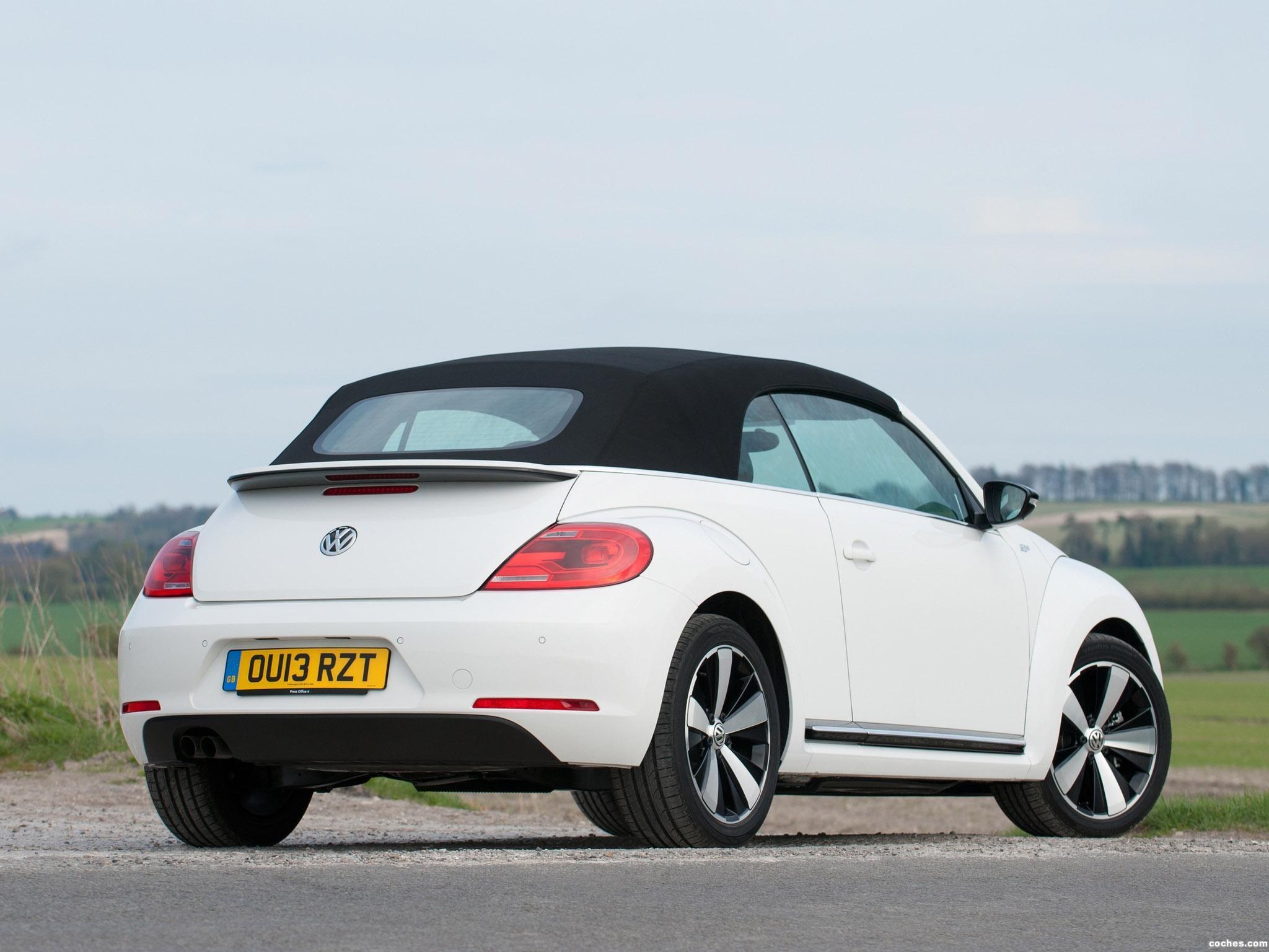 Foto 5 de Volkswagen Beetle Cabrio 60s Edition UK 2013