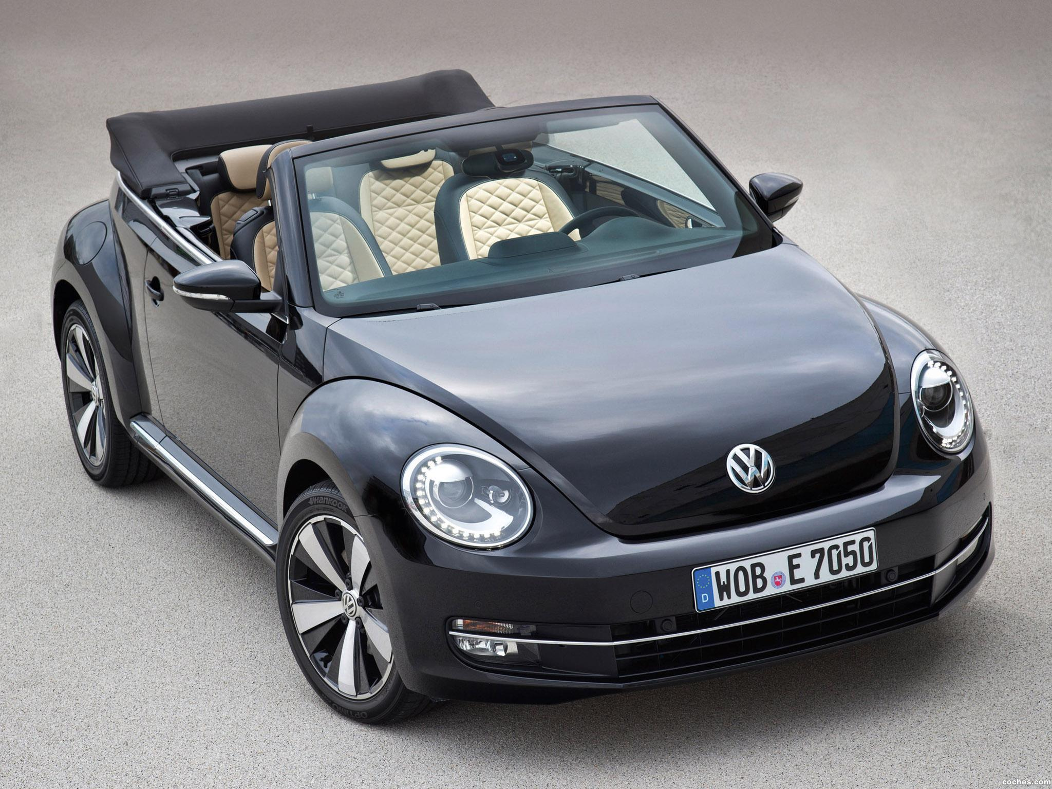 Foto 0 de Volkswagen Beetle Cabrio Exclusive 2012