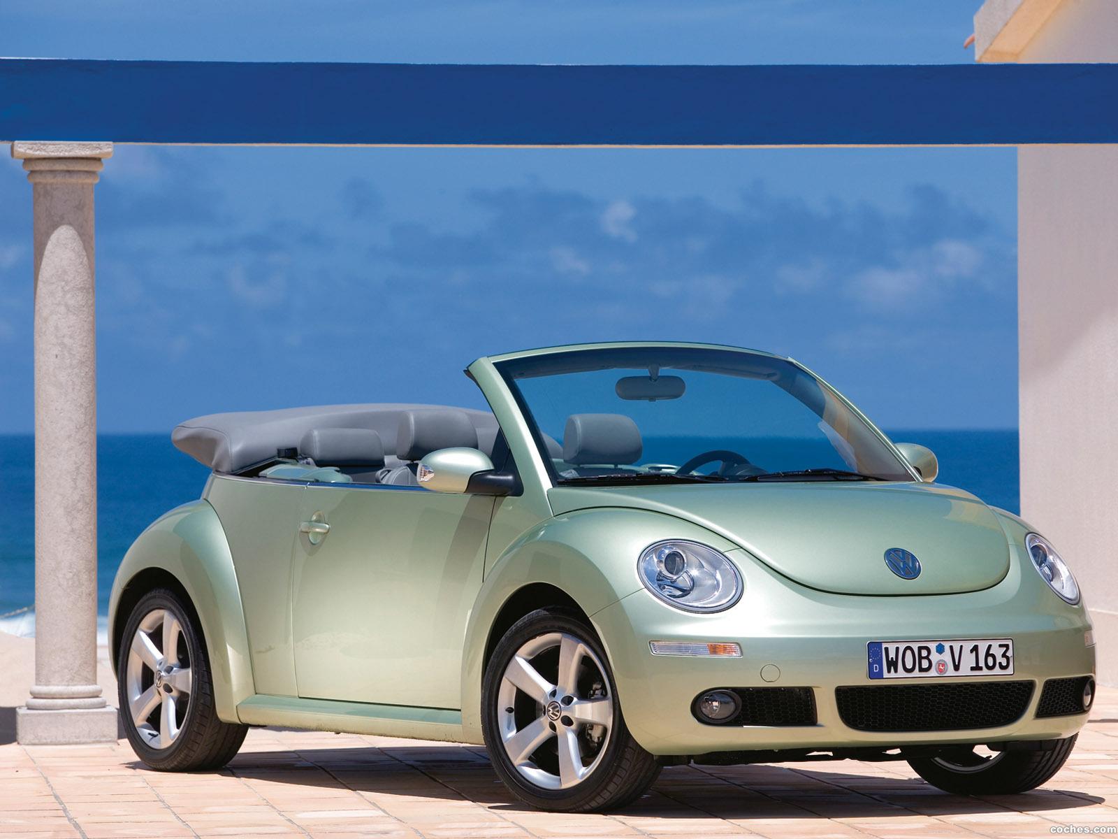 Foto 0 de Volkswagen New Beetle Cabrio 2006