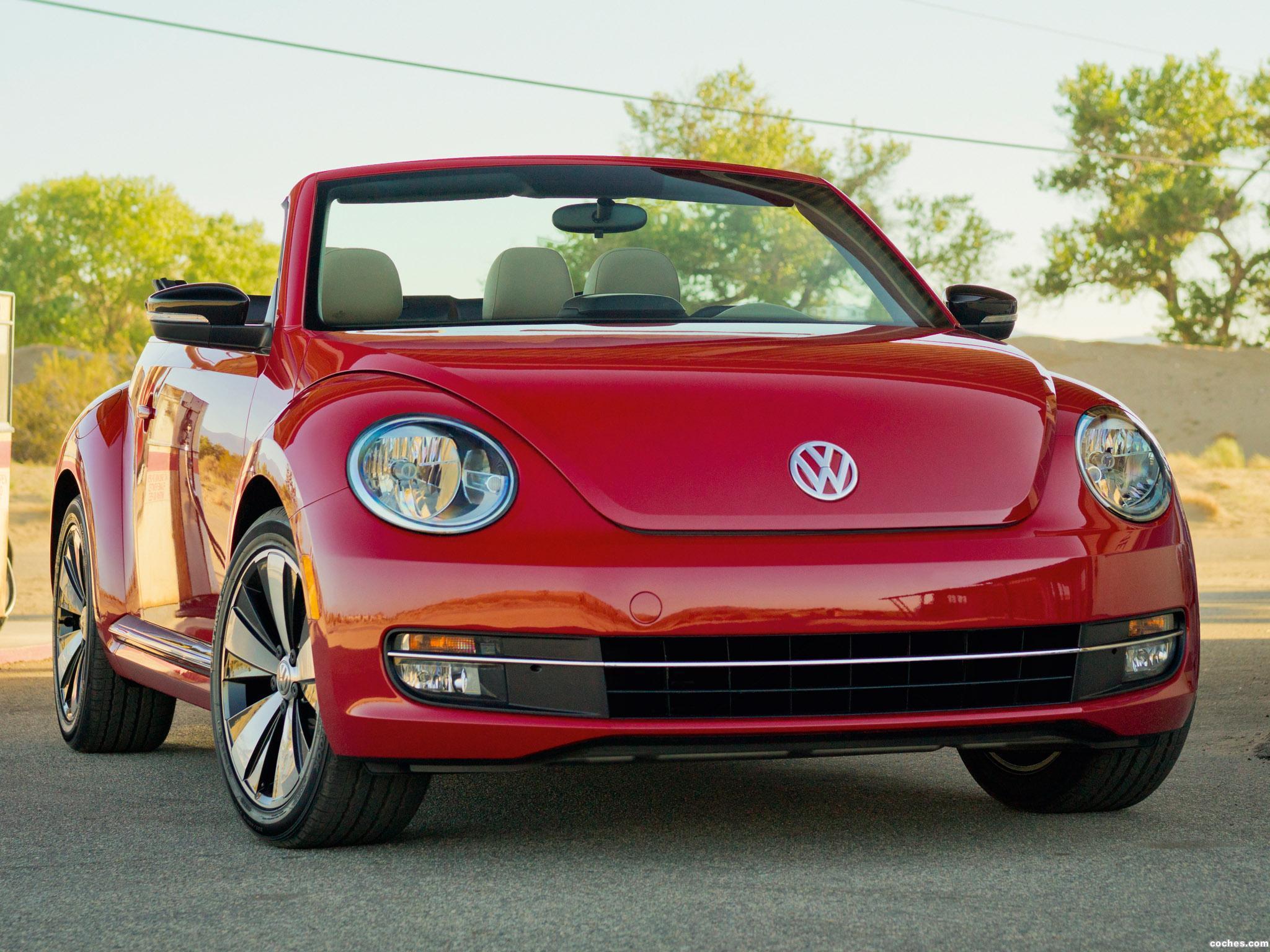 Foto 0 de Volkswagen Beetle Cabriolet 2013