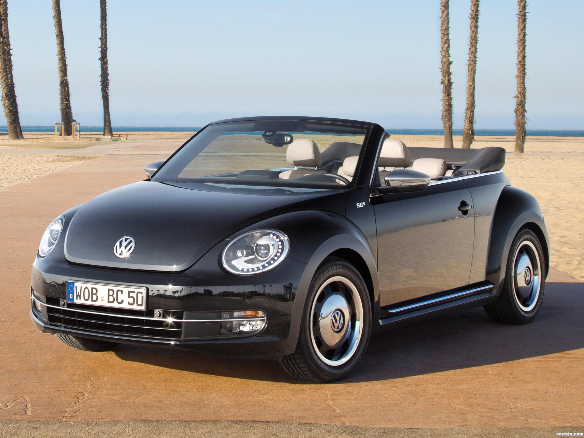 Foto 0 de Volkswagen Beetle Cabriolet 50s Edition 2013