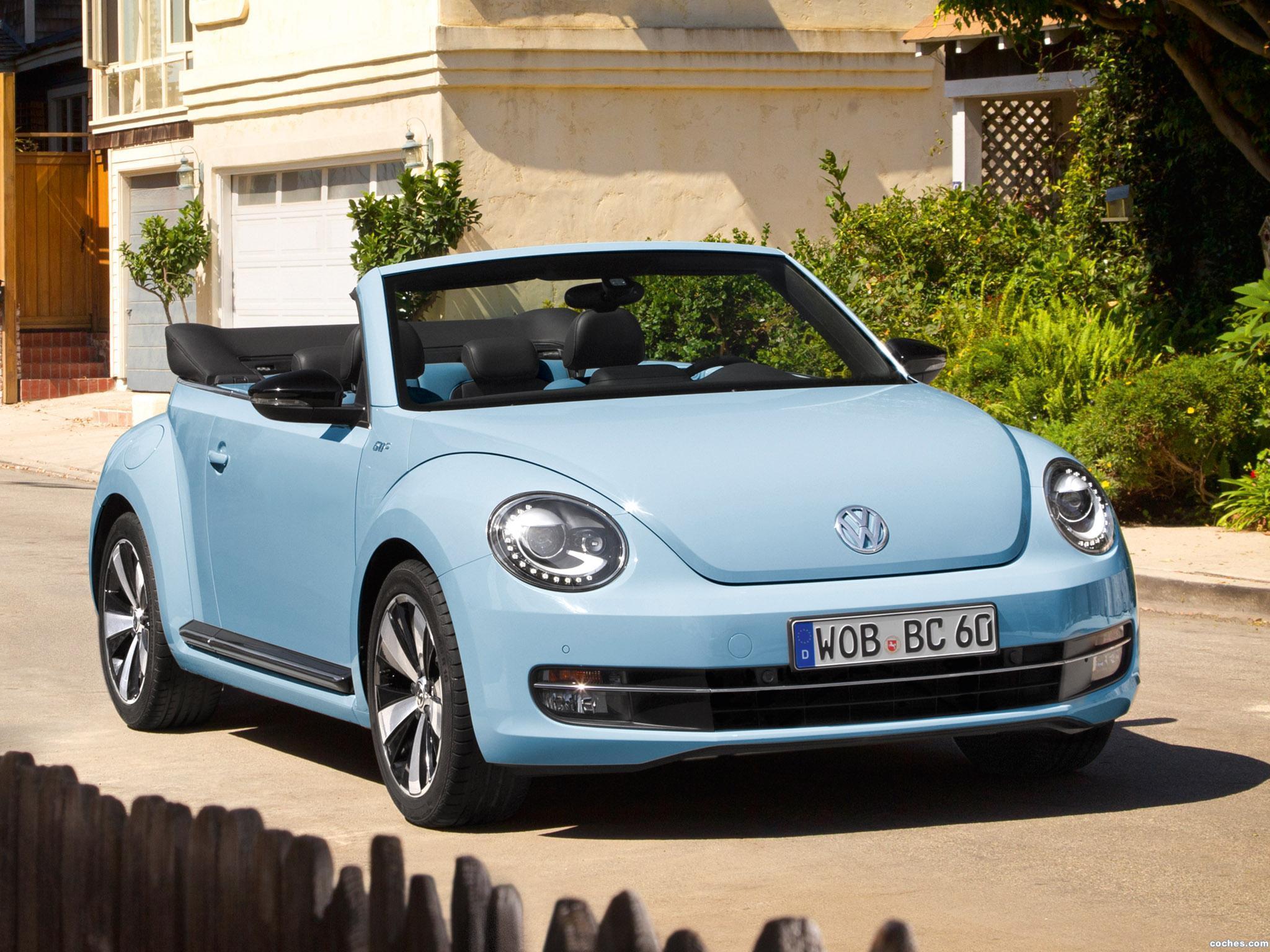Foto 0 de Volkswagen Beetle Cabriolet 60s Edition 2013