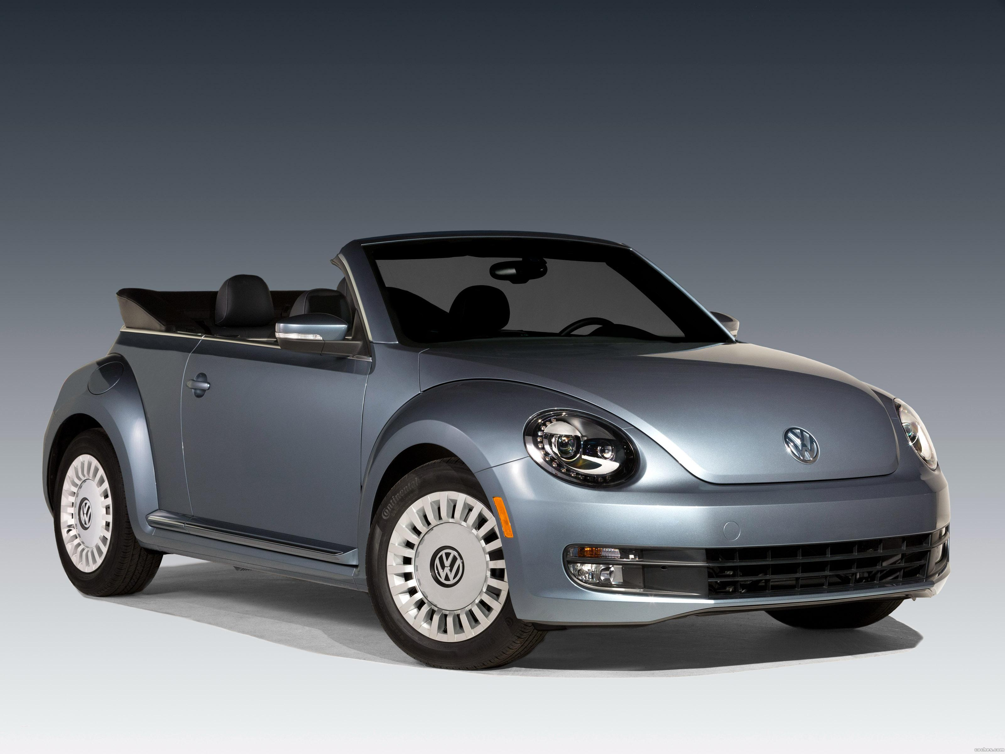 Foto 0 de Volkswagen Beetle Convertible Denim 2016