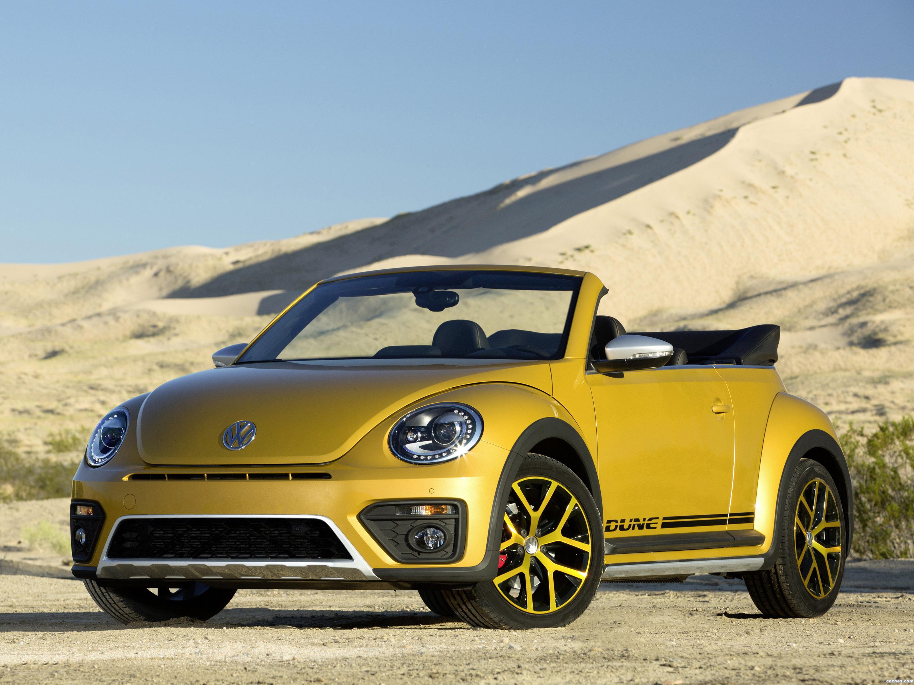 Foto 0 de Volkswagen Beetle Dune Convertible 2016