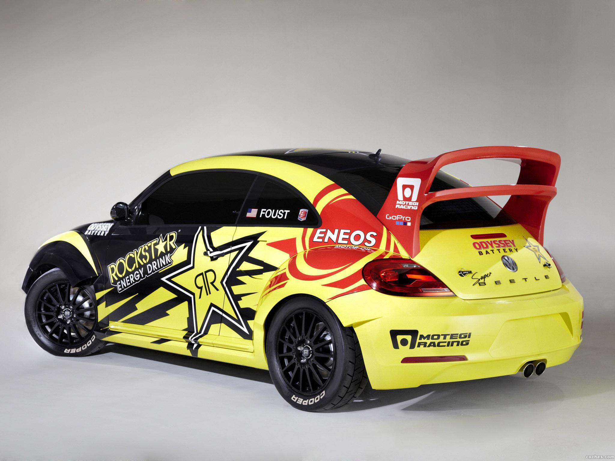Foto 1 de Volkswagen Beetle GRC Rallycross Andretti Autosport 2014