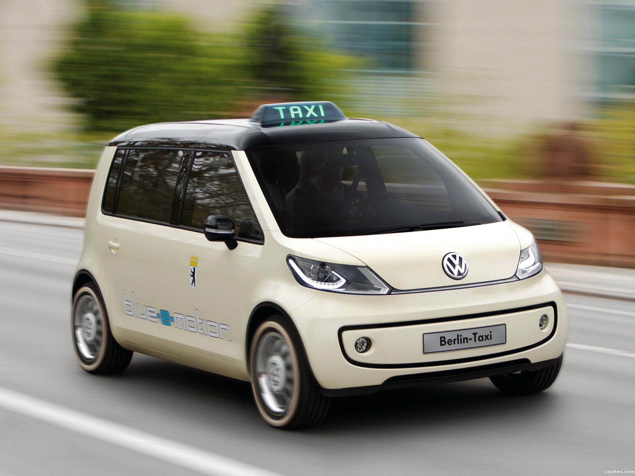 Foto 0 de Volkswagen Berlin Taxi Concept 2010