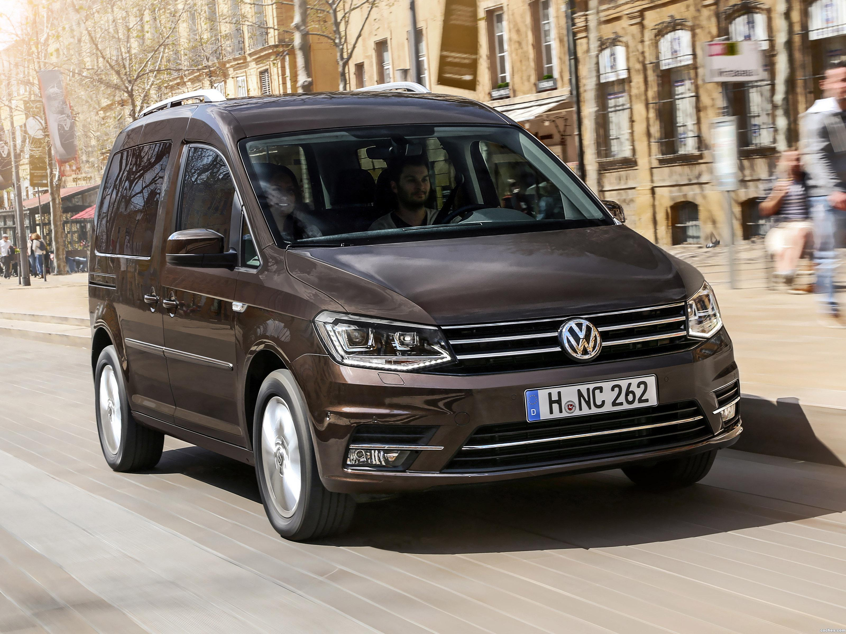 Foto 0 de Volkswagen Caddy Highline 2015