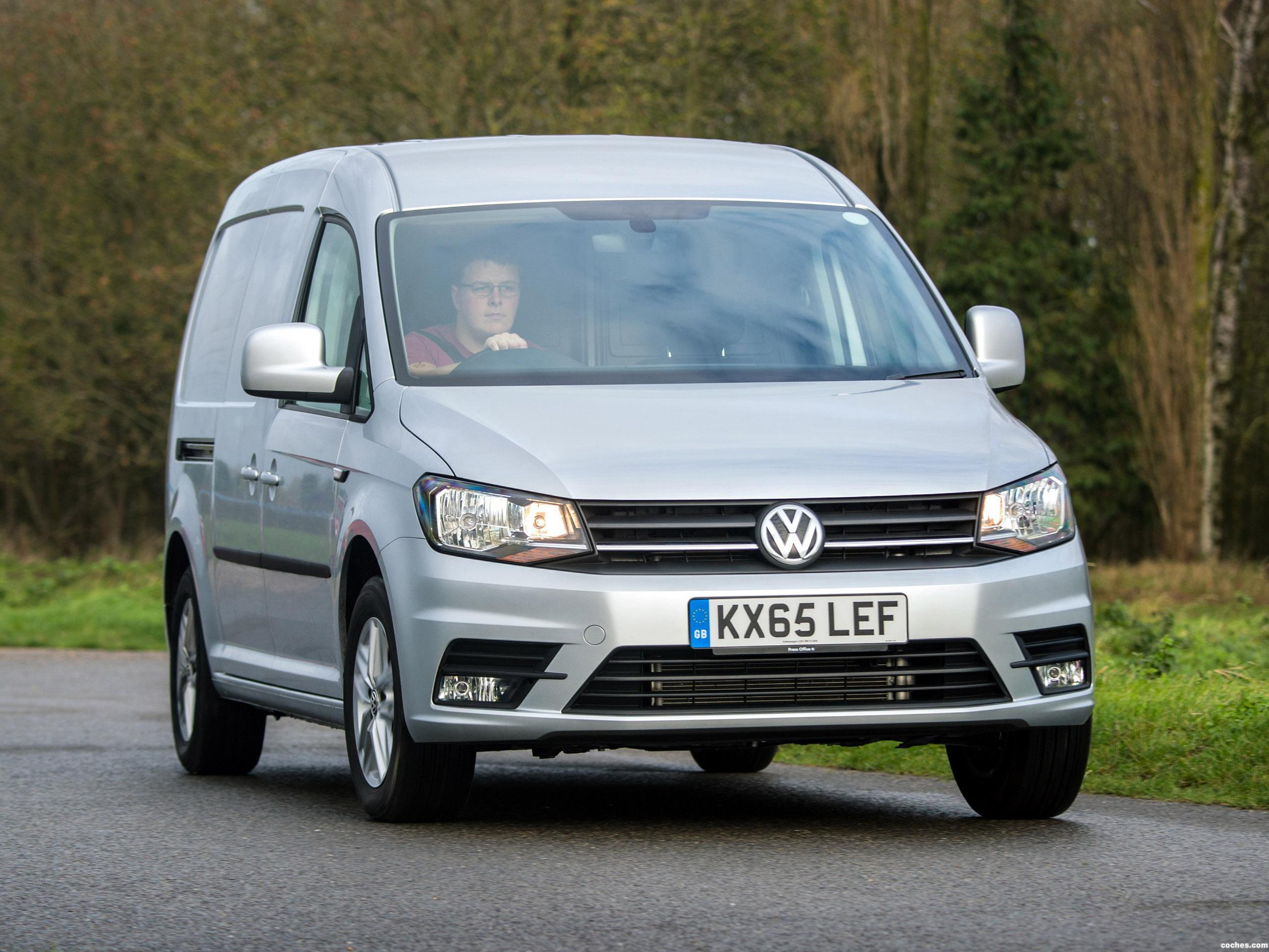 Foto 0 de Volkswagen Caddy Maxi Kasten Highline UK 2015