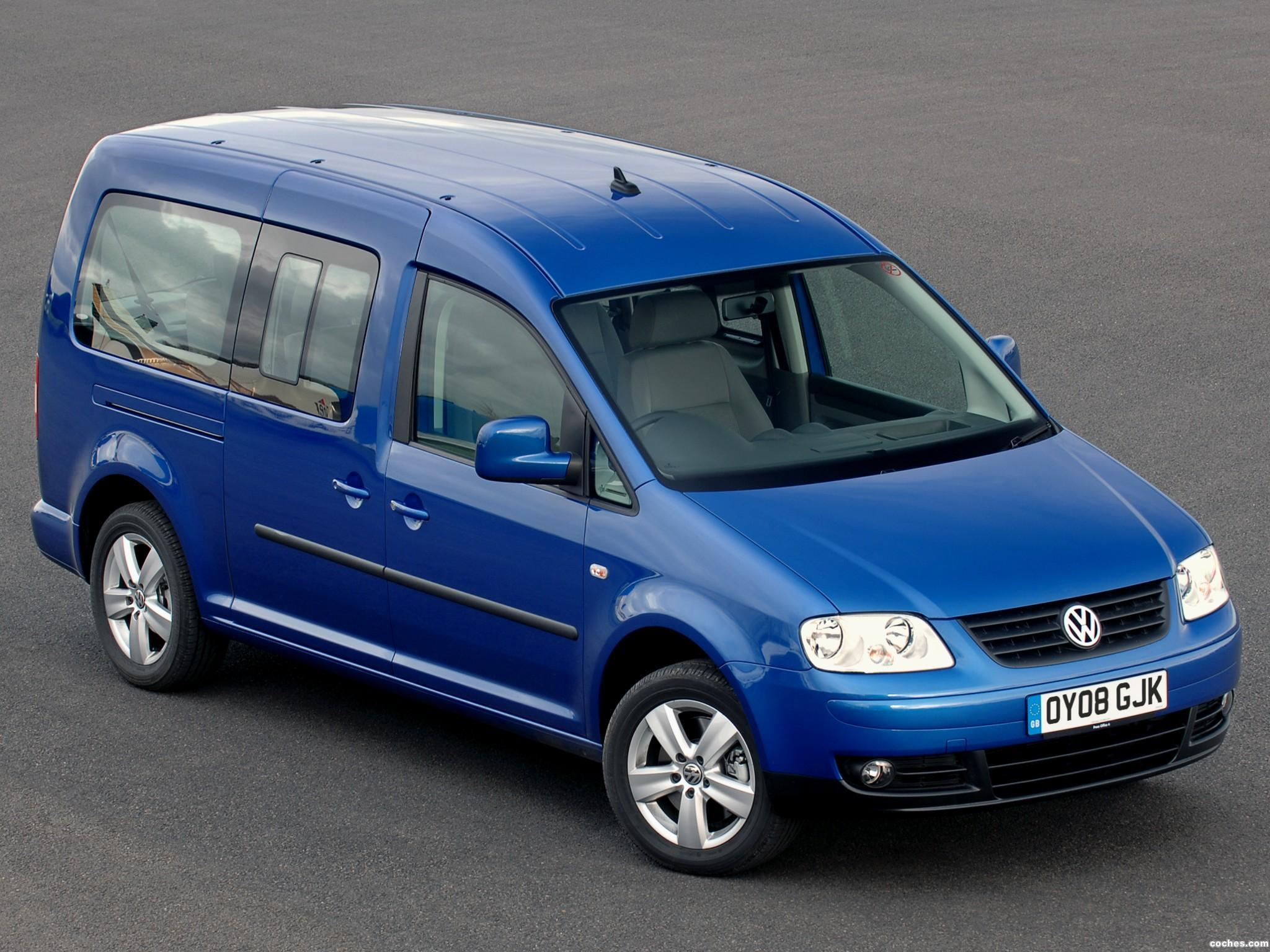 Foto 0 de Volkswagen Caddy Maxi Life UK 2007