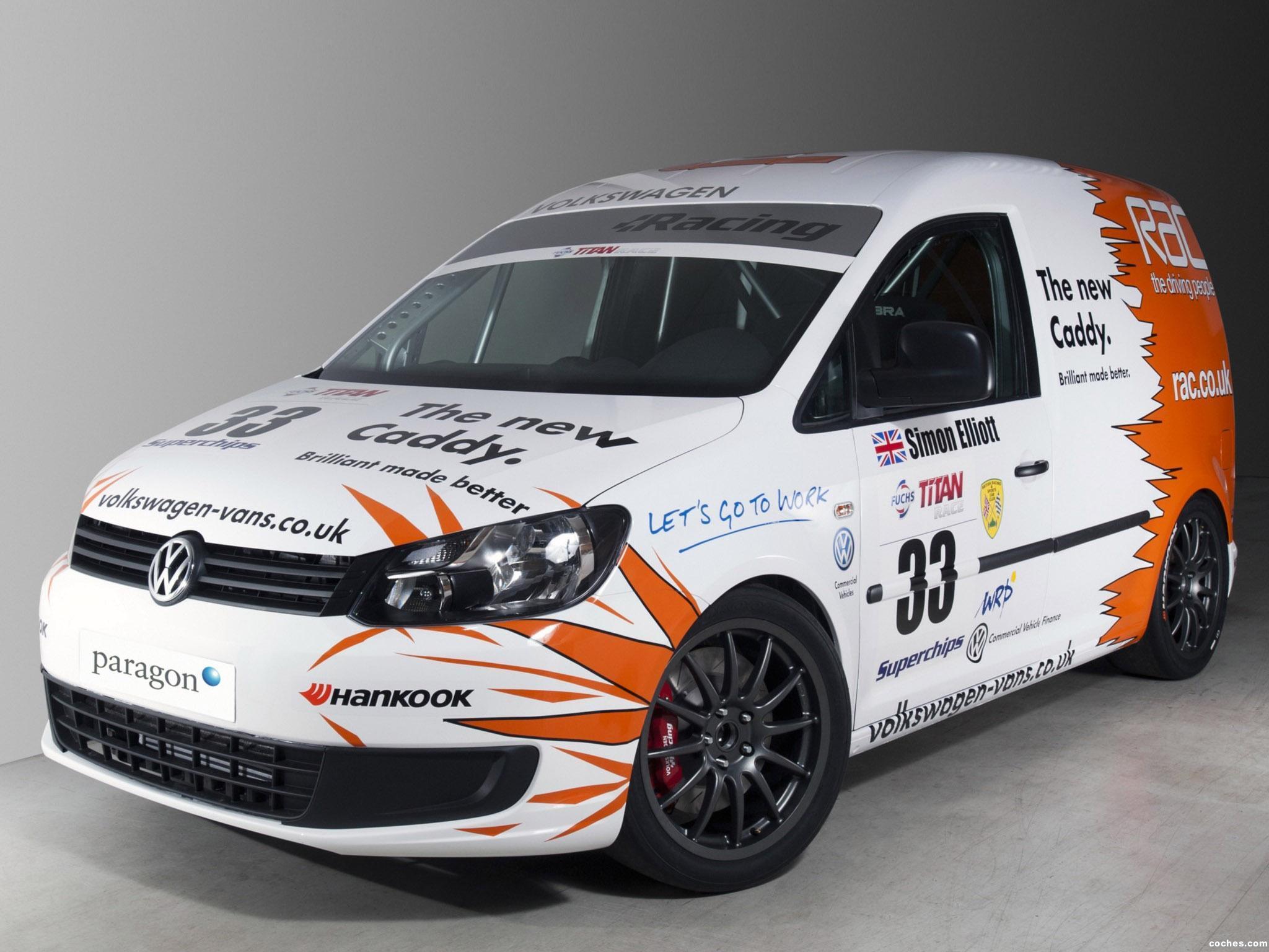 Foto 0 de Volkswagen Caddy Racer 2011