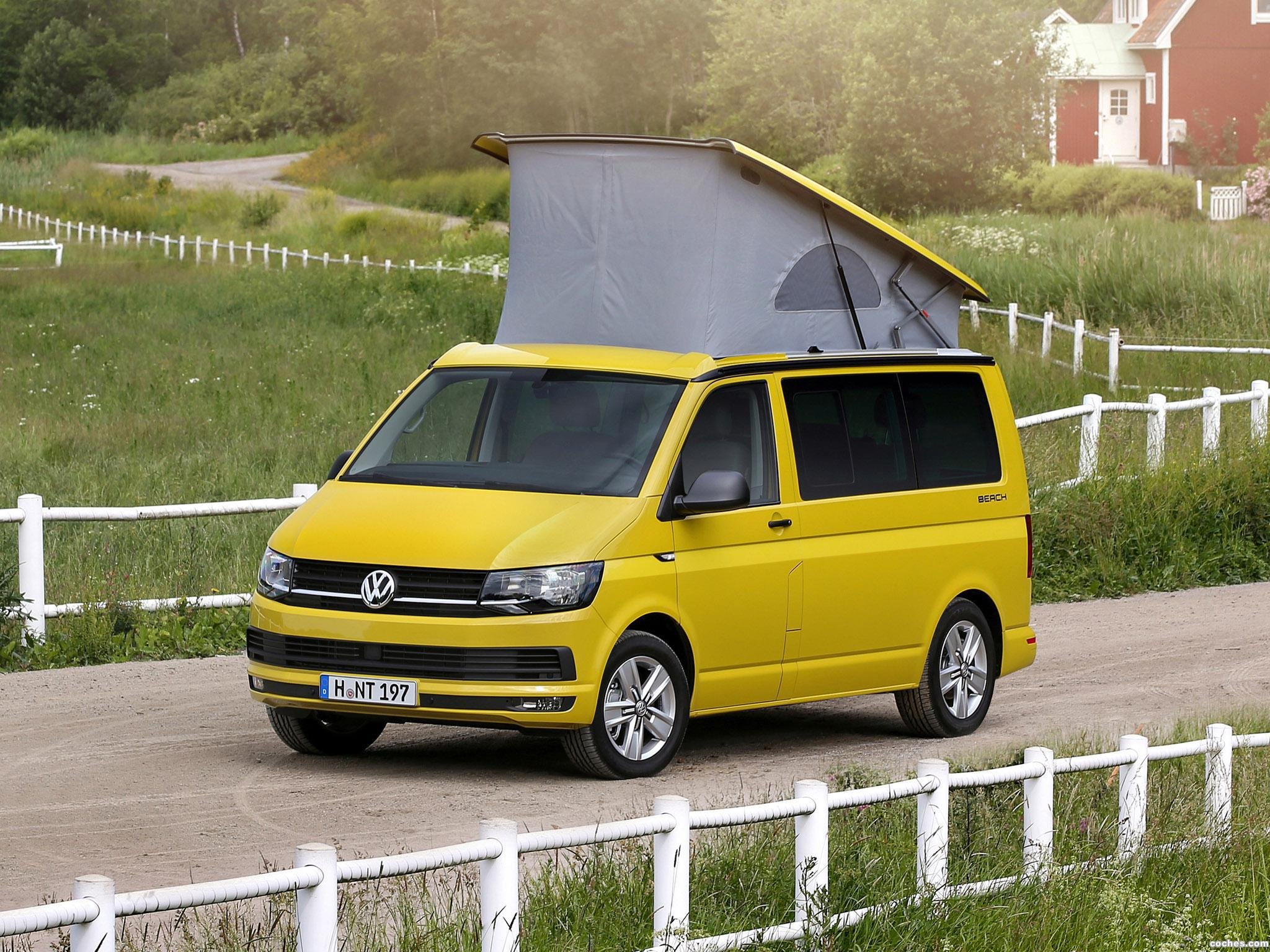 fotos de volkswagen california t6 2015 foto 18. Black Bedroom Furniture Sets. Home Design Ideas