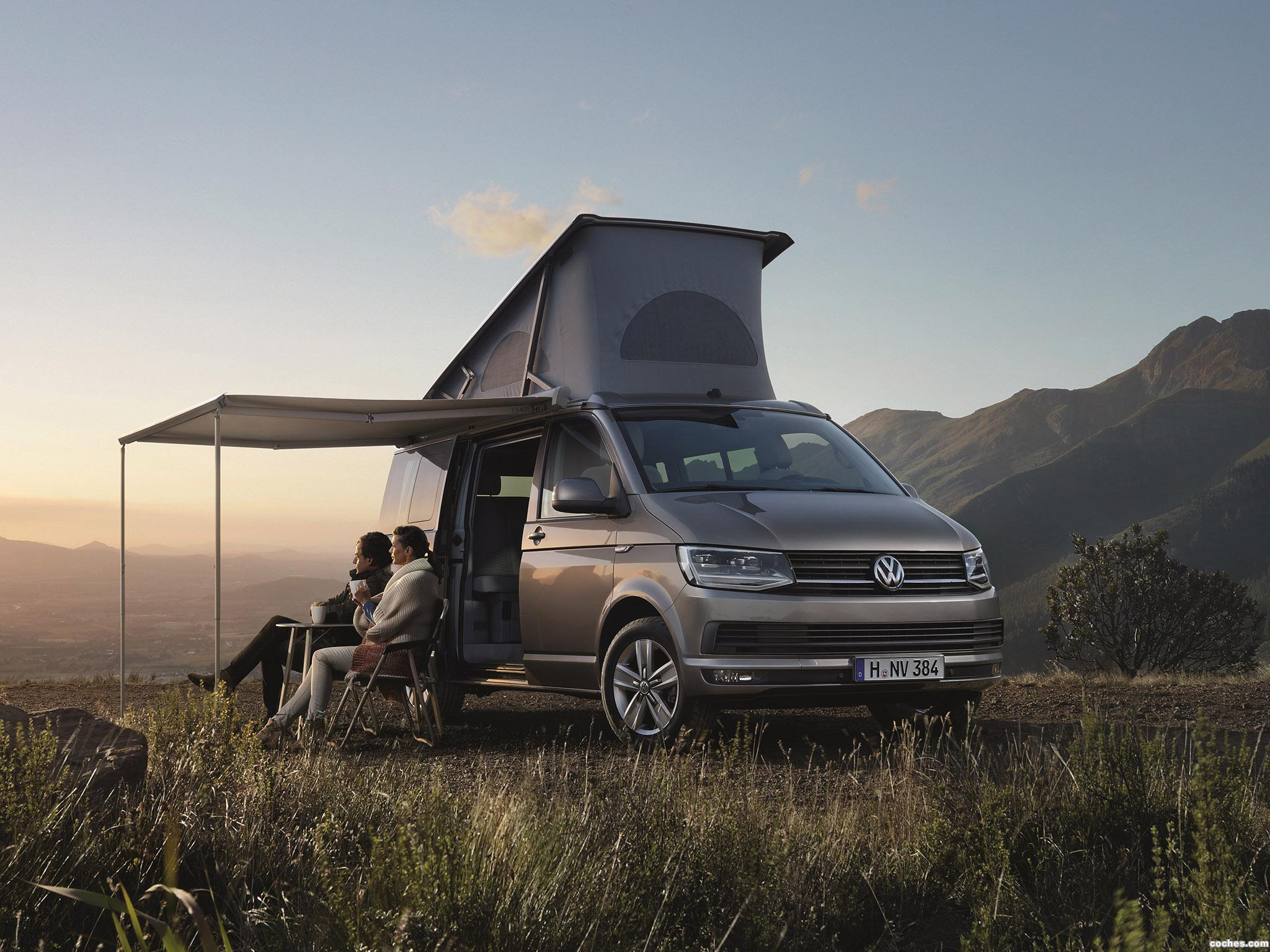 fotos de volkswagen california t6 2015. Black Bedroom Furniture Sets. Home Design Ideas