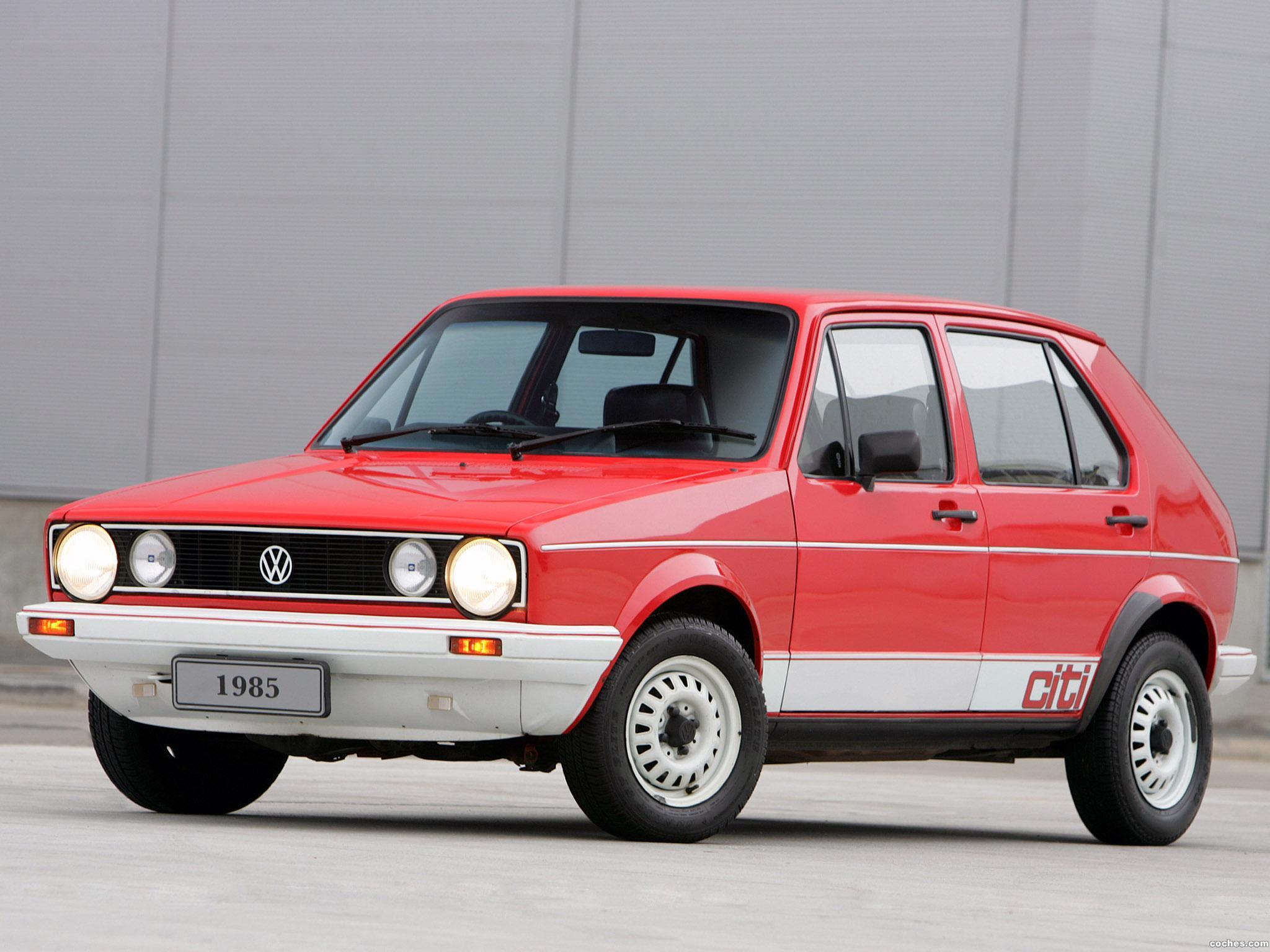 Foto 0 de Volkswagen Citi Golf Sport 1985