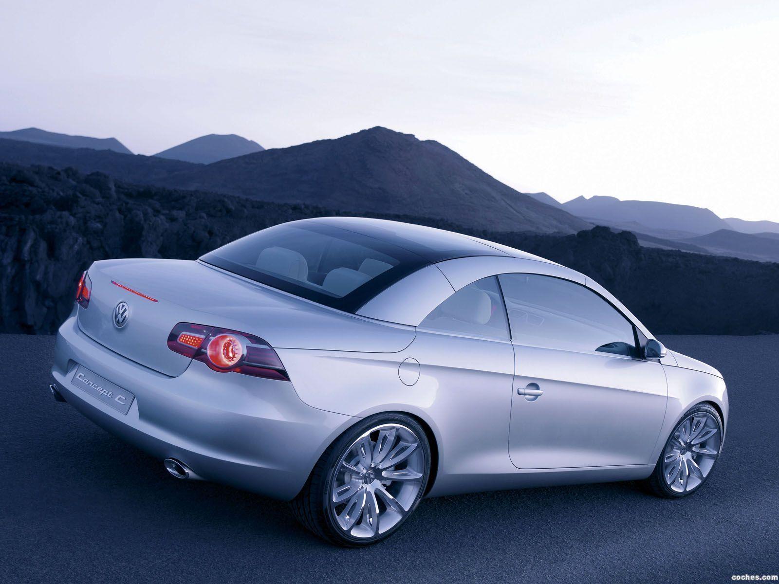 Foto 12 de Volkswagen Concept C 2004