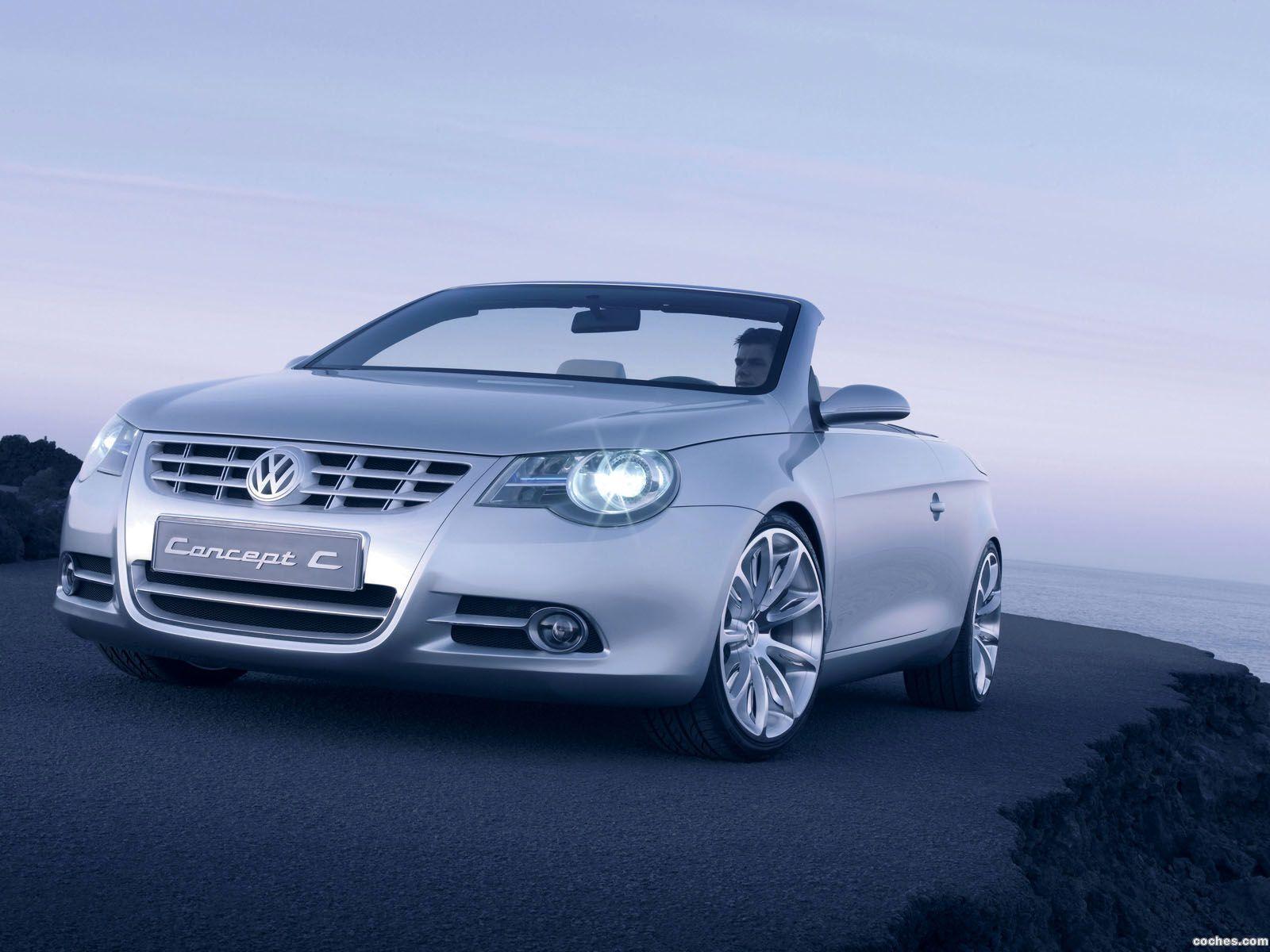 Foto 11 de Volkswagen Concept C 2004