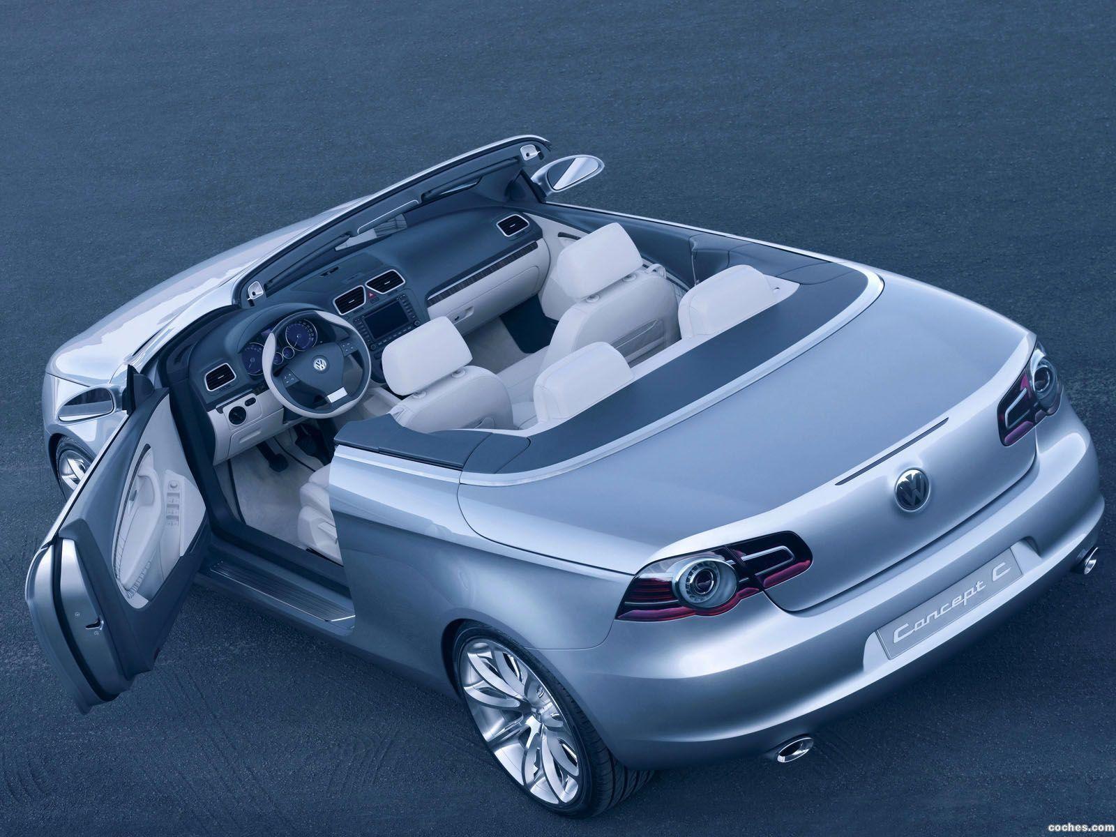 Foto 9 de Volkswagen Concept C 2004