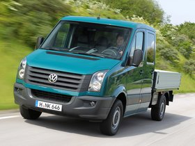 Fotos de Volkswagen Crafter Double Cab Pickup 2011