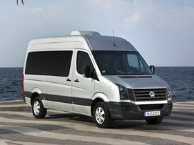 Ver foto 6 de Volkswagen Crafter High Roof Bus 2011