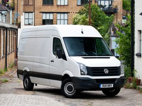 Ver foto 2 de Volkswagen Crafter High Roof Van UK 2011
