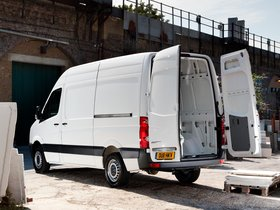 Ver foto 10 de Volkswagen Crafter High Roof Van UK 2011