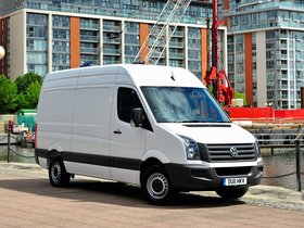 Ver foto 8 de Volkswagen Crafter High Roof Van UK 2011